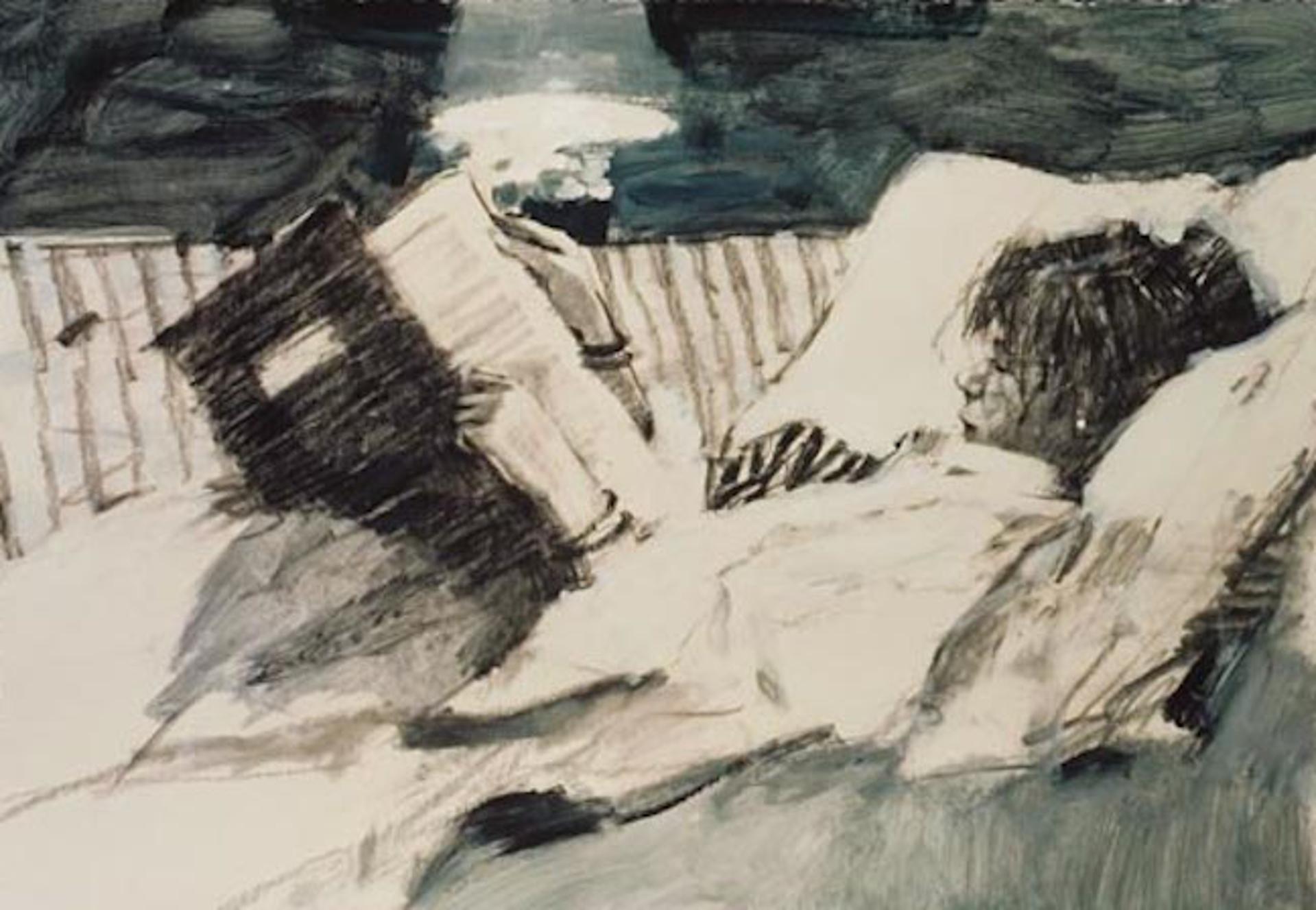 Bedtime Stories (B&W) by Aldo Luongo