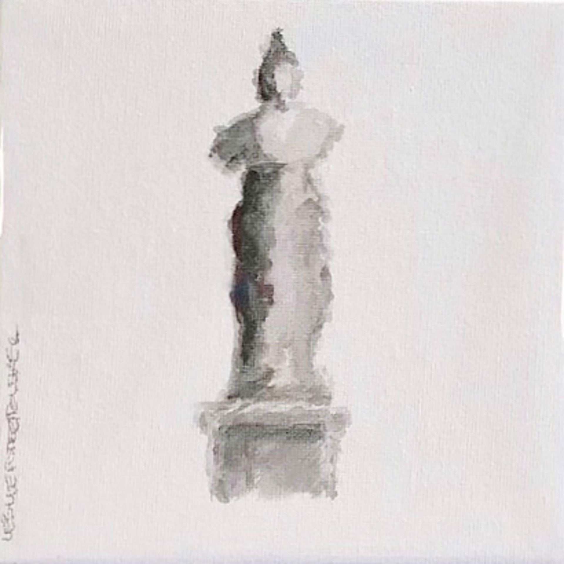 Statuesque II by Leslie Poteet Busker