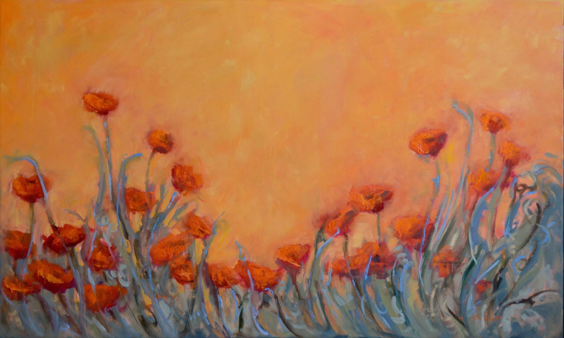 Italian Poppies Rising by Karen Hewitt Hagan