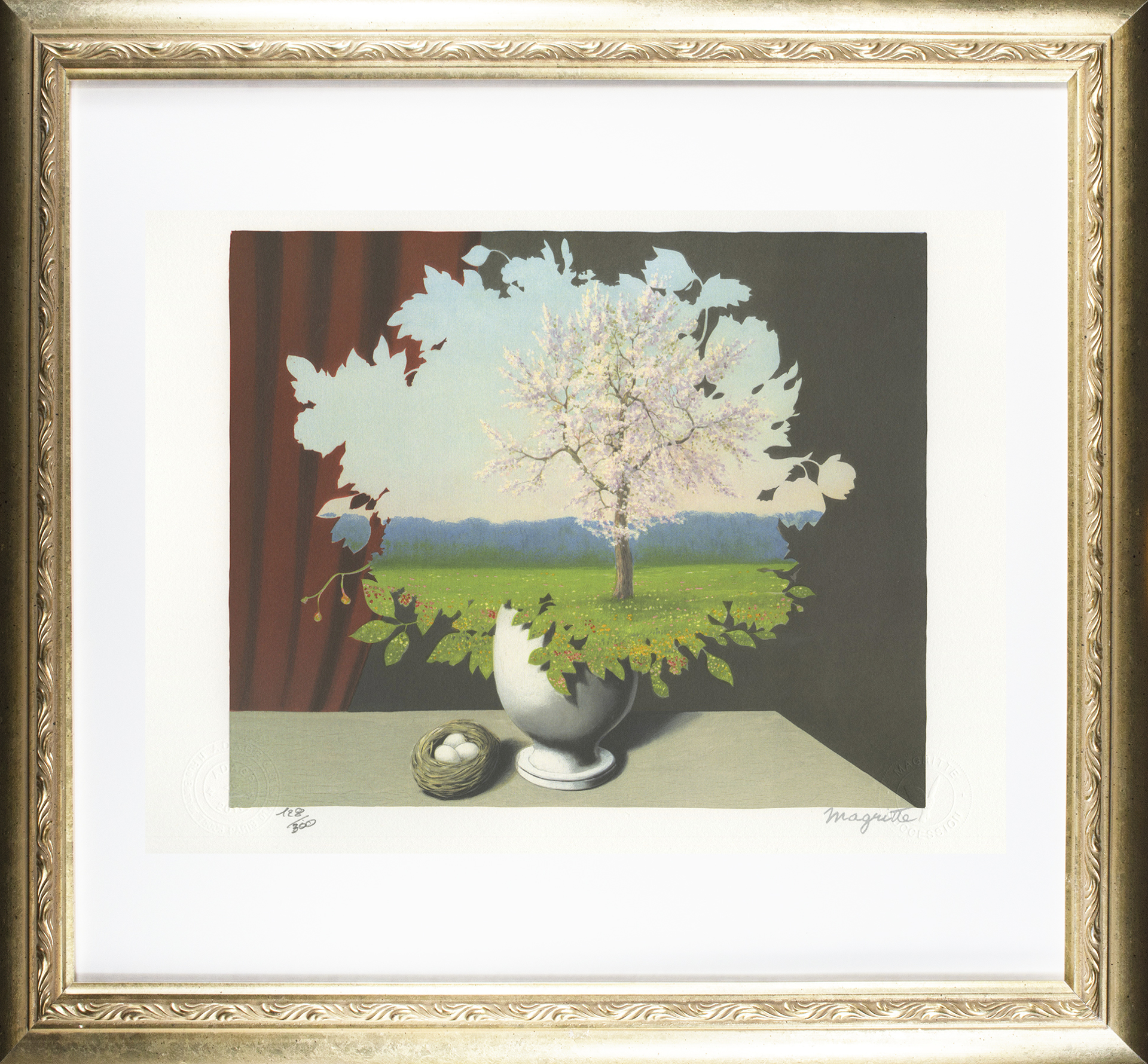 Le Plagiat (Plagiarism) by Rene Magritte
