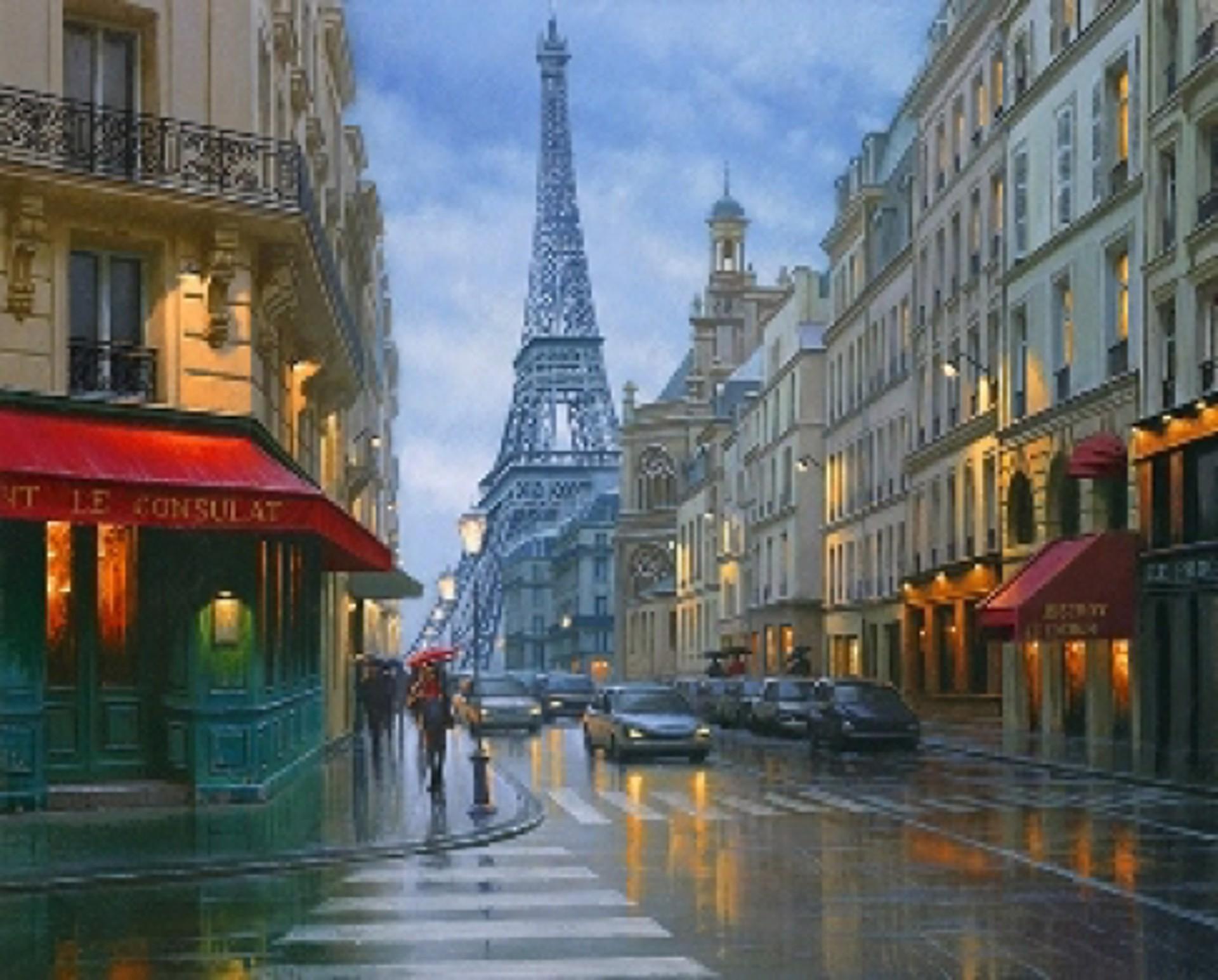 Bistro la Tour by Alexei Butirskiy