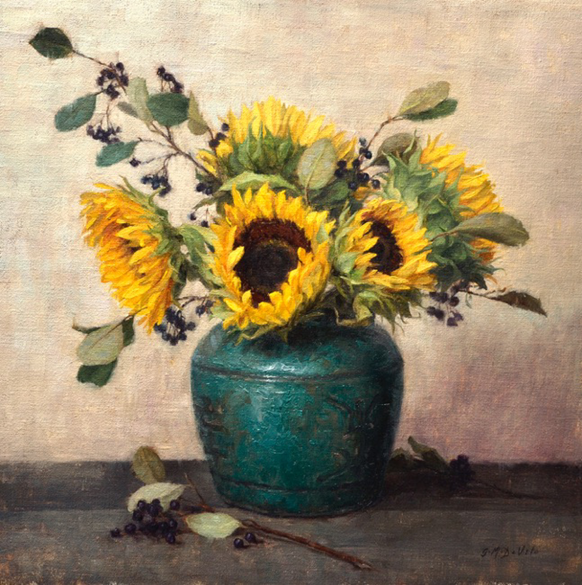 Sunflowers by GRACE DeVITO