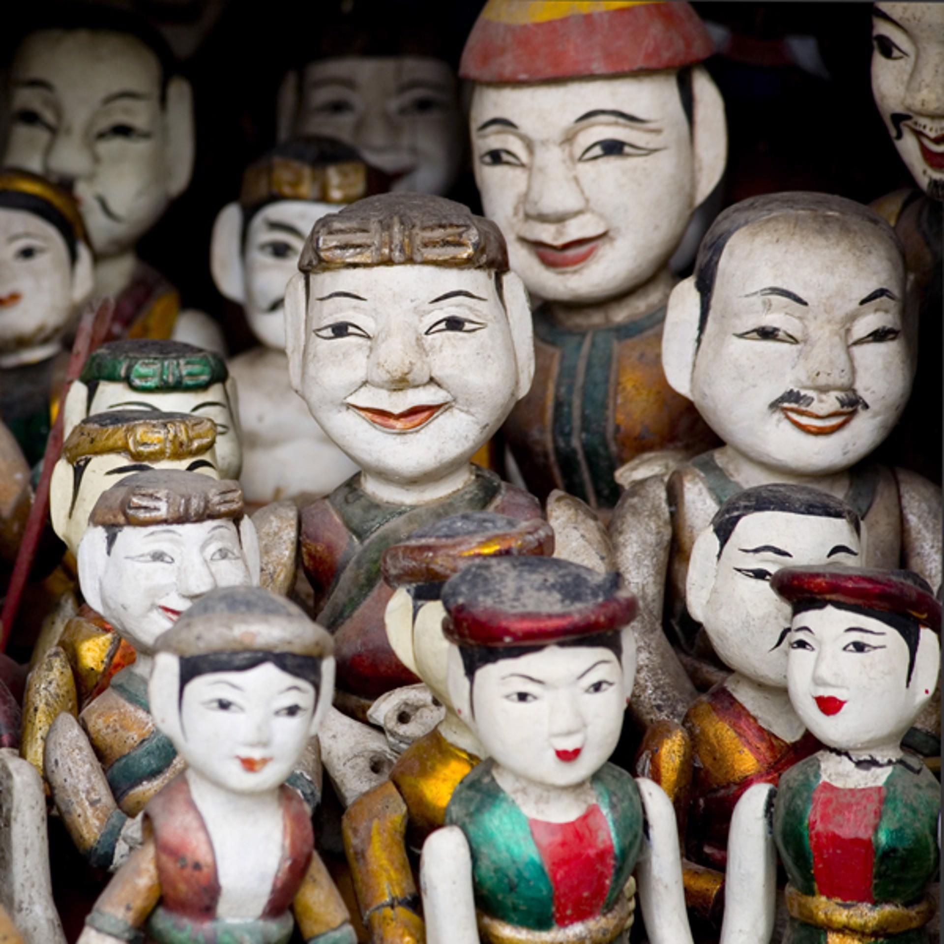 Puppets, Hanoi, Vietnam by Cora Edmonds