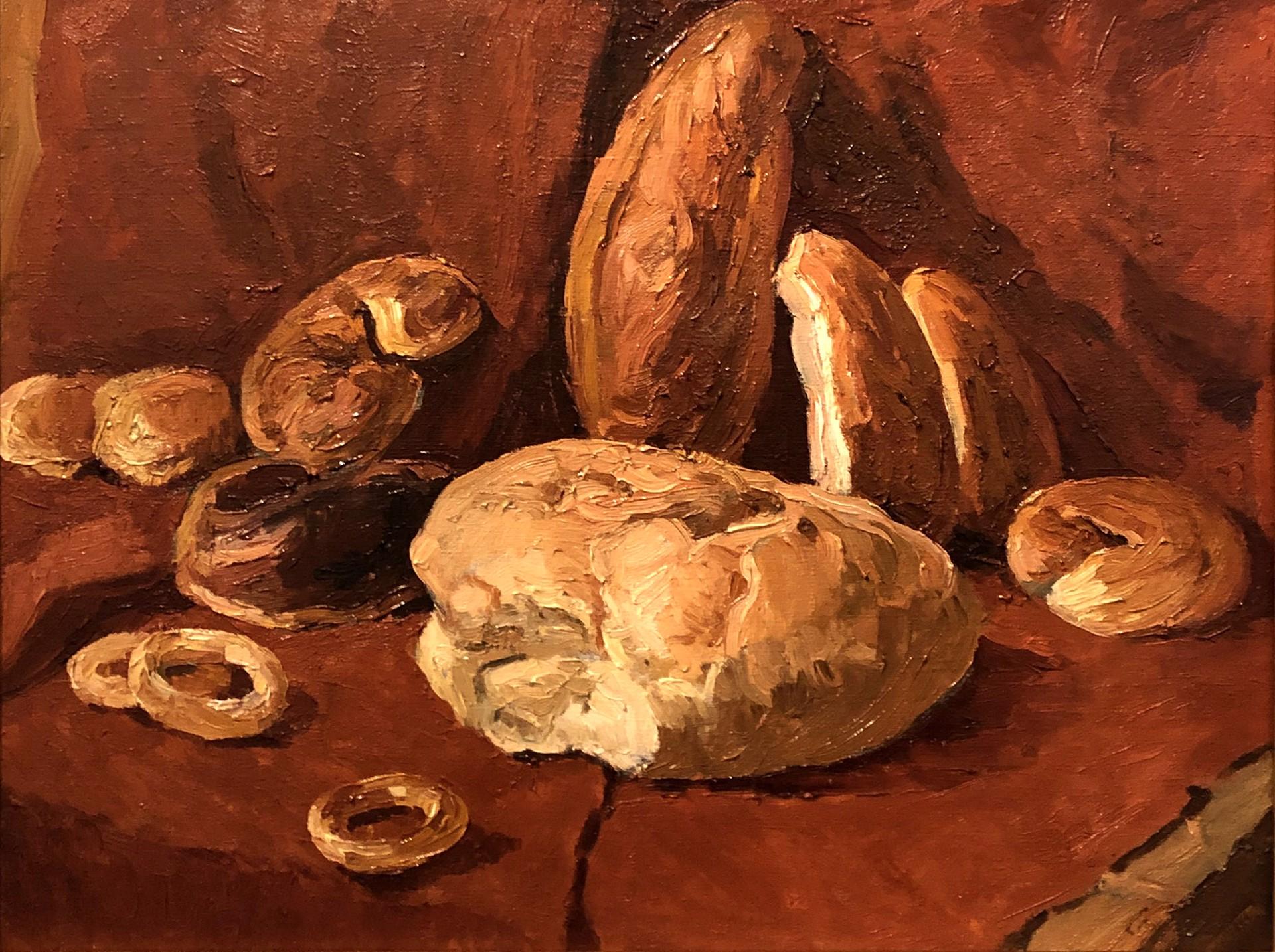 Anatoli Alekseevich Nebolsin - Bread by Russian Artists