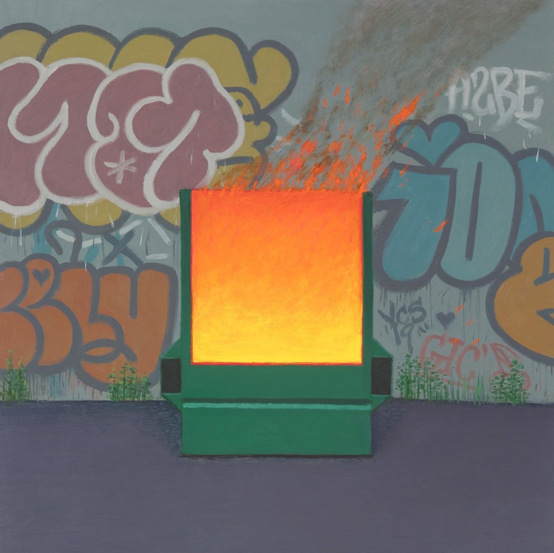 Dumpster Fire III by Vonn Cummings Sumner