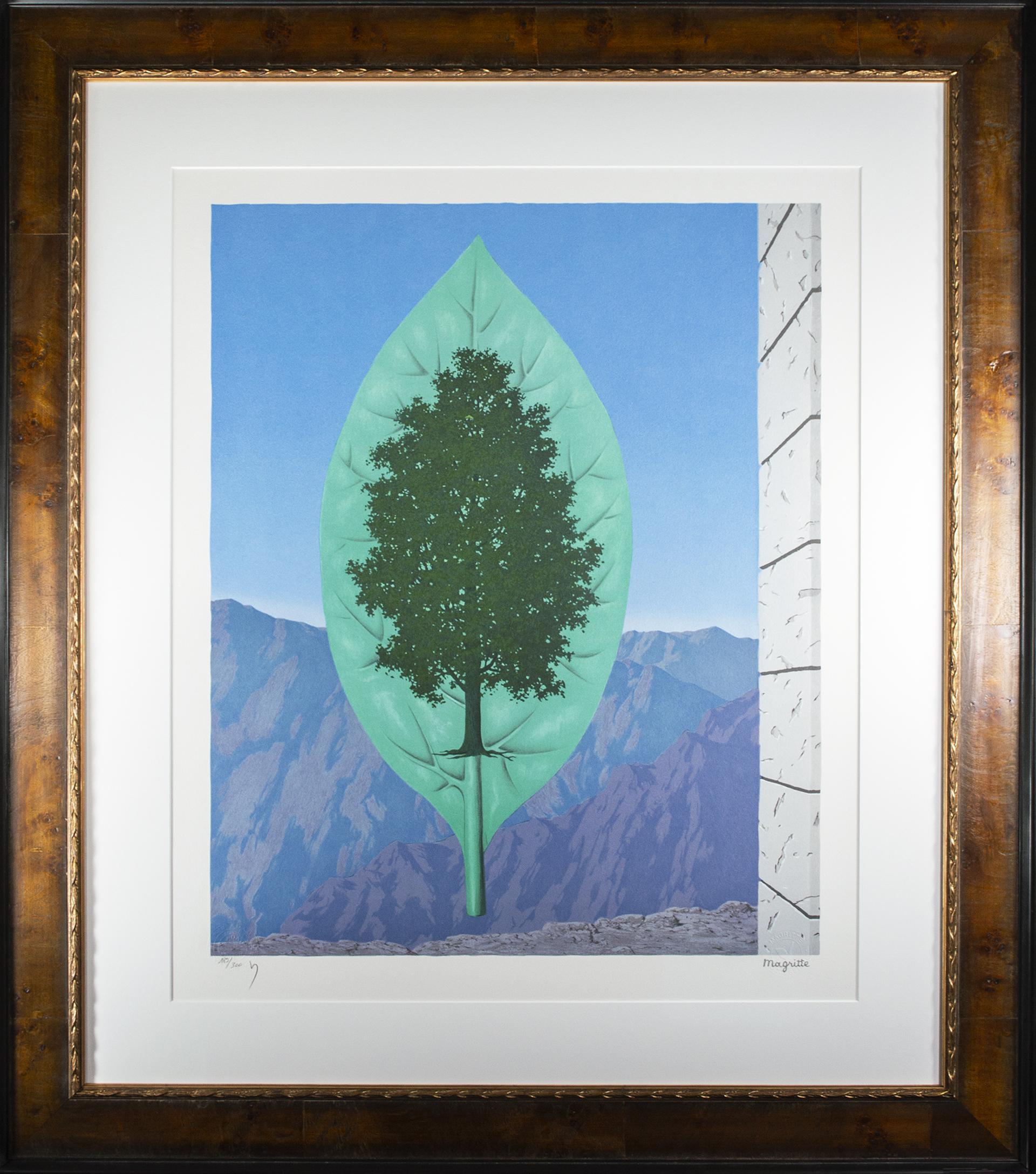 Le Dernier Cri (The Last Word) by Rene Magritte