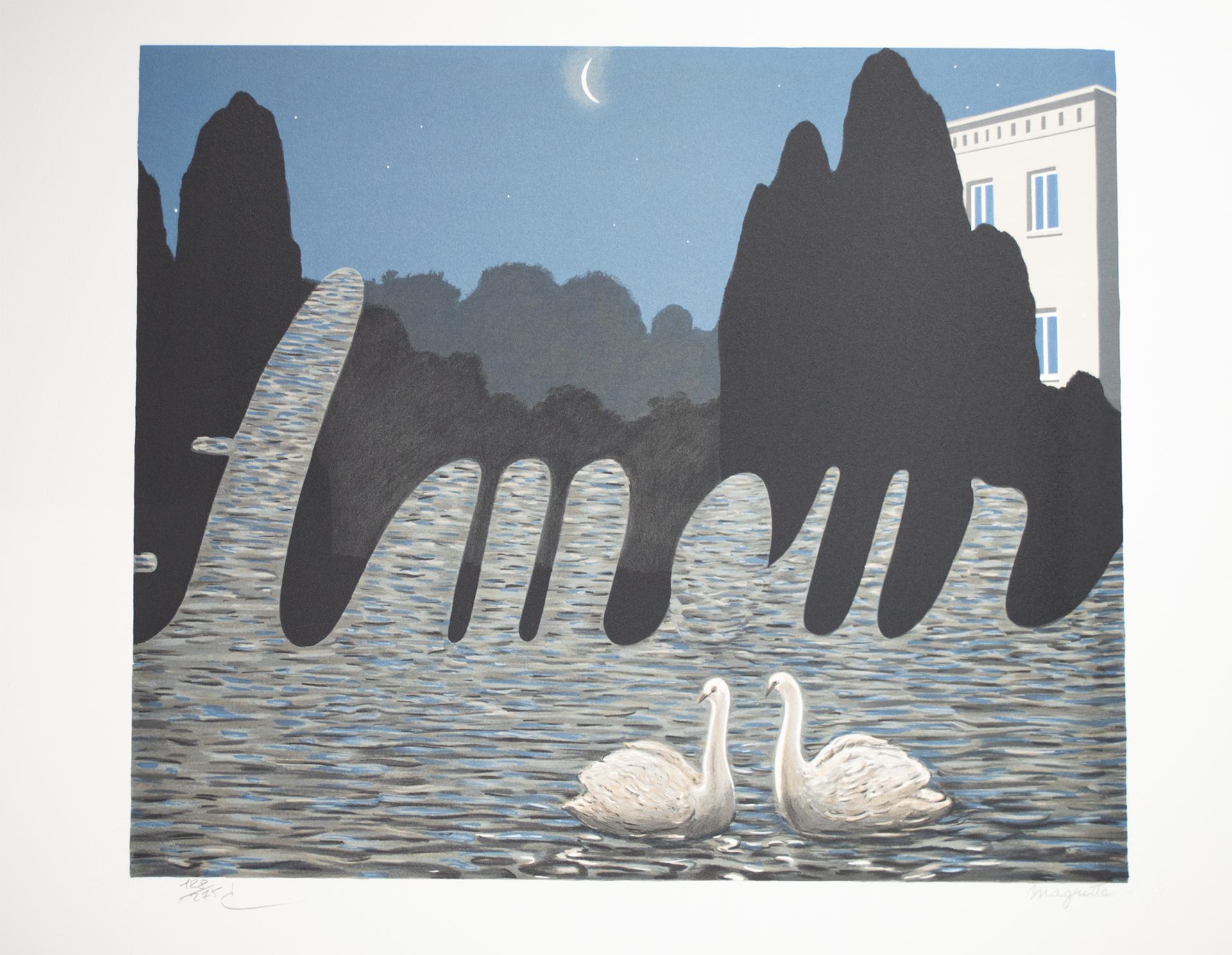 L'Art de la conversation (The Art of Conversation) by Rene Magritte
