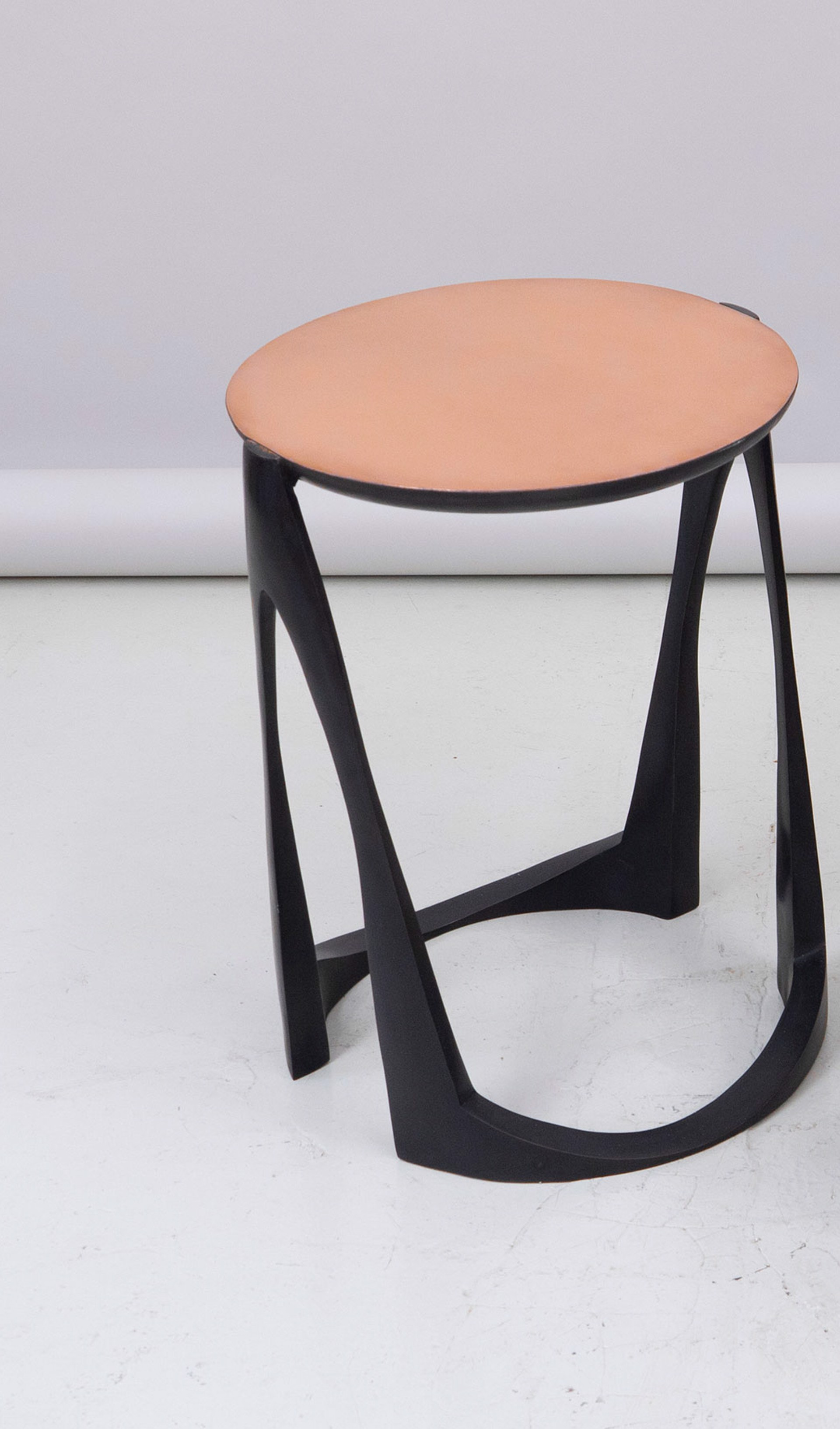 Side table bronze by Anasthasia Millot