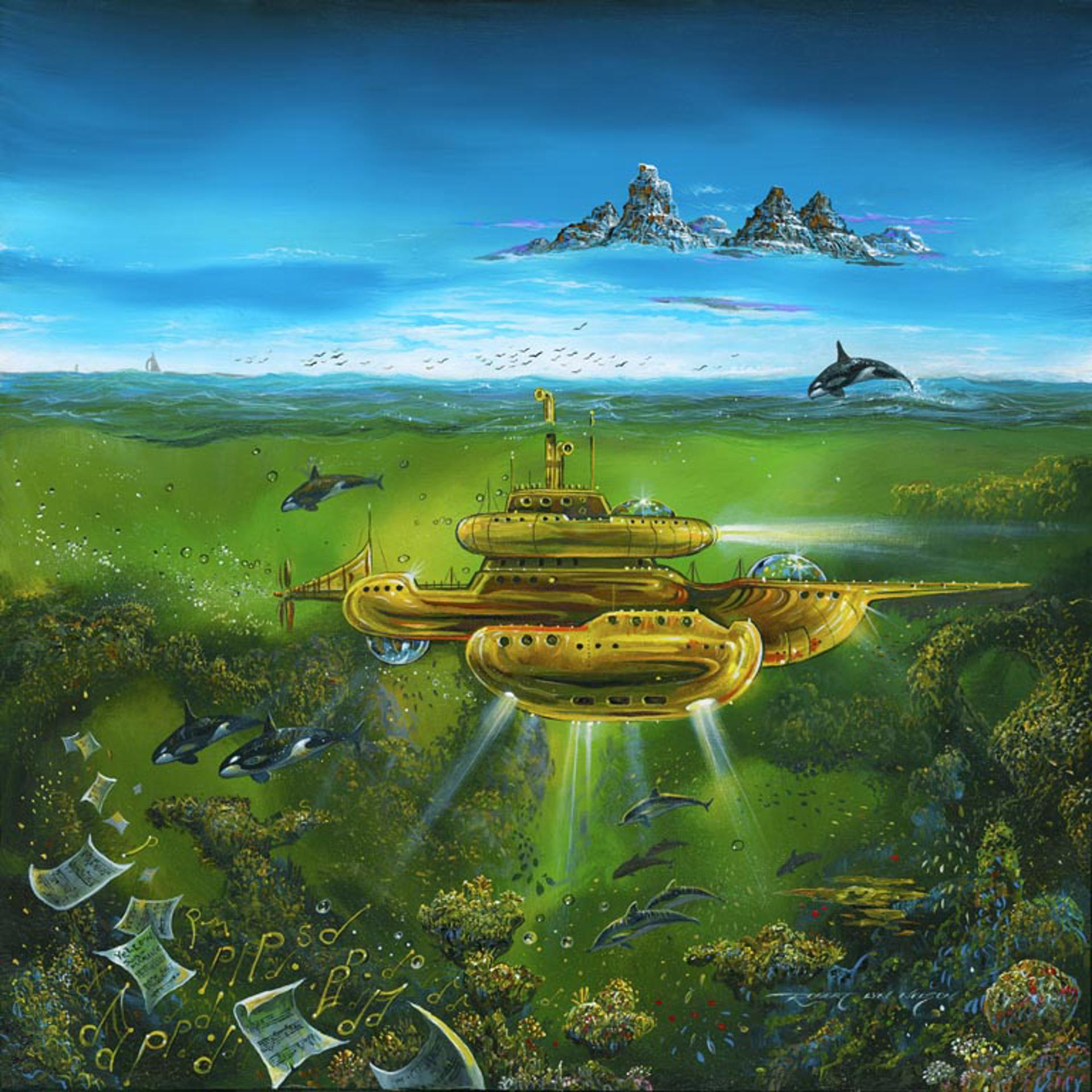 Yellow Submarine  by Robert Lyn Nelson