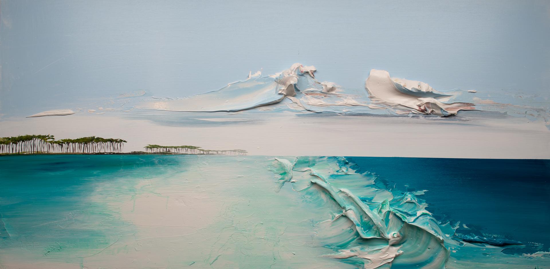 SEASCAPE SS-60X30-2020-052 by JUSTIN GAFFREY
