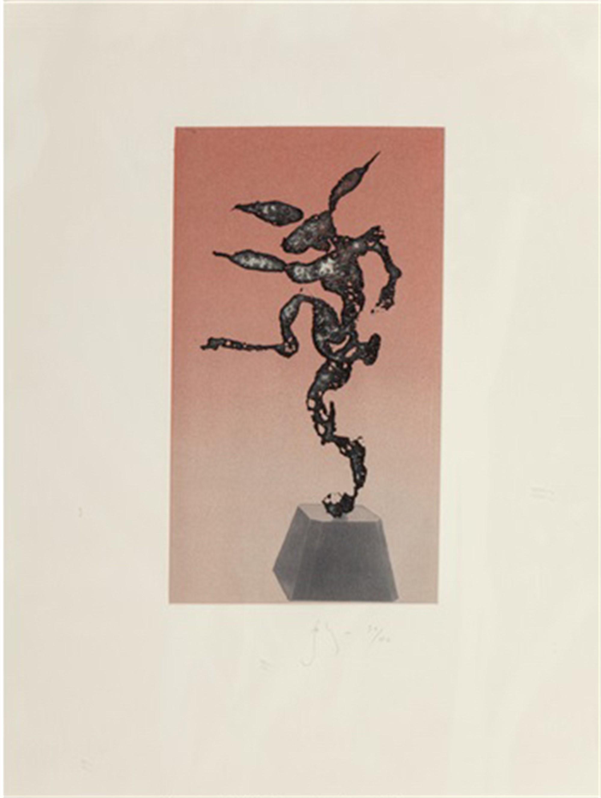 Nijinsky (Hare) by Barry Flanagan