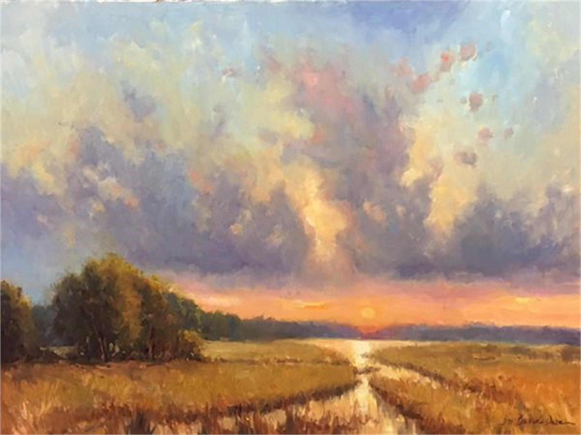 Clouds Over Penny Creek #2 by Dee Beard Dean