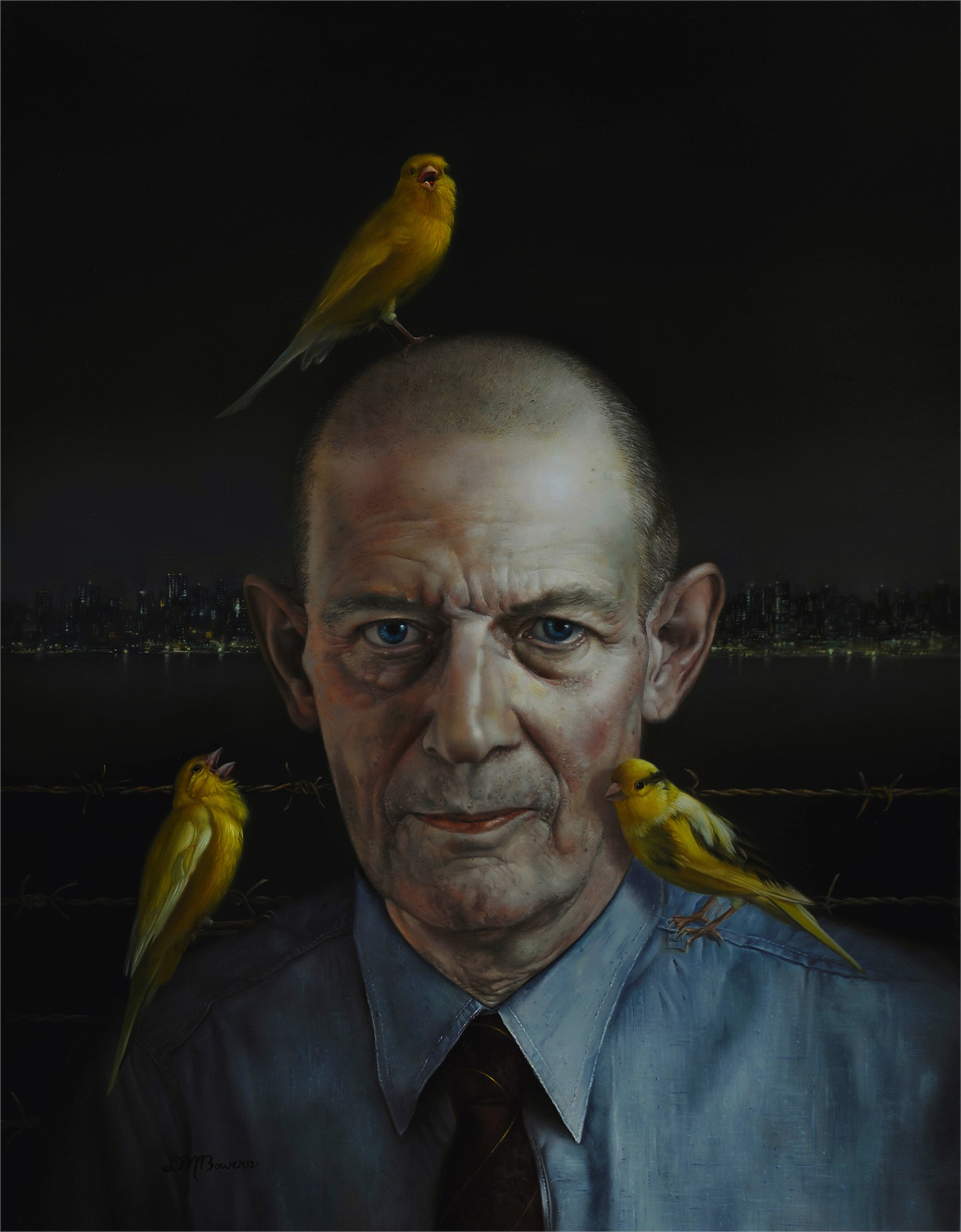 Robert Stroud (Birdman of Alcatraz) by David Michael Bowers