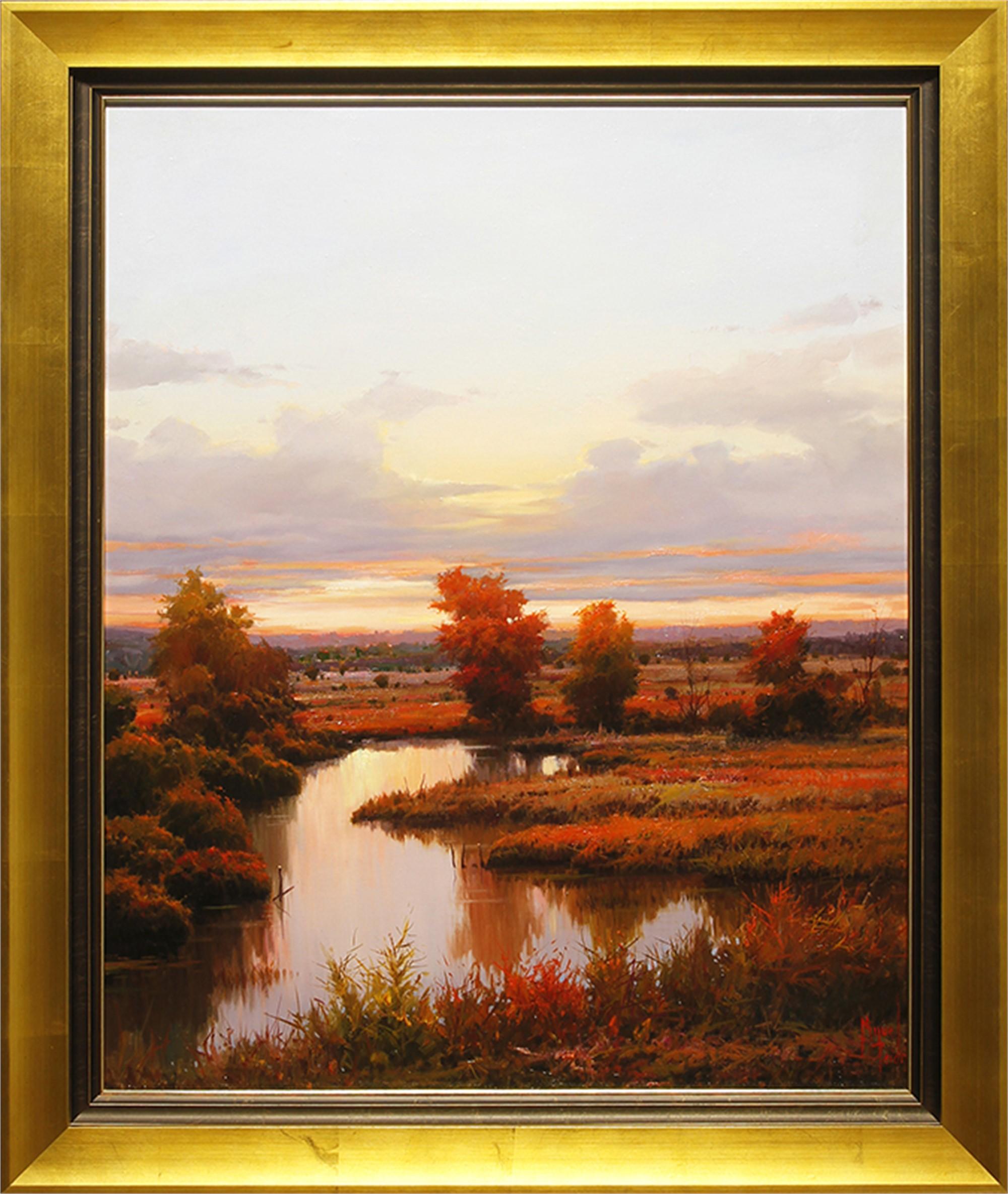 Amanecer Calido (Tranquil Dawn) by Miguel Peidro