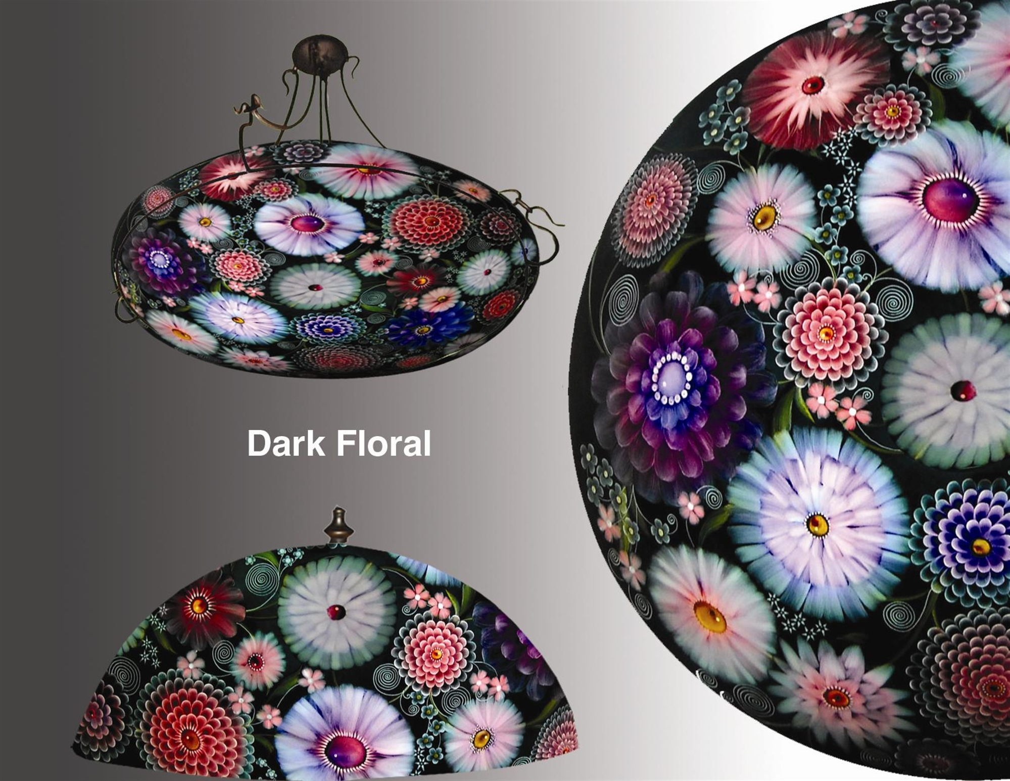Design Dark Floral by Jamie Barthel