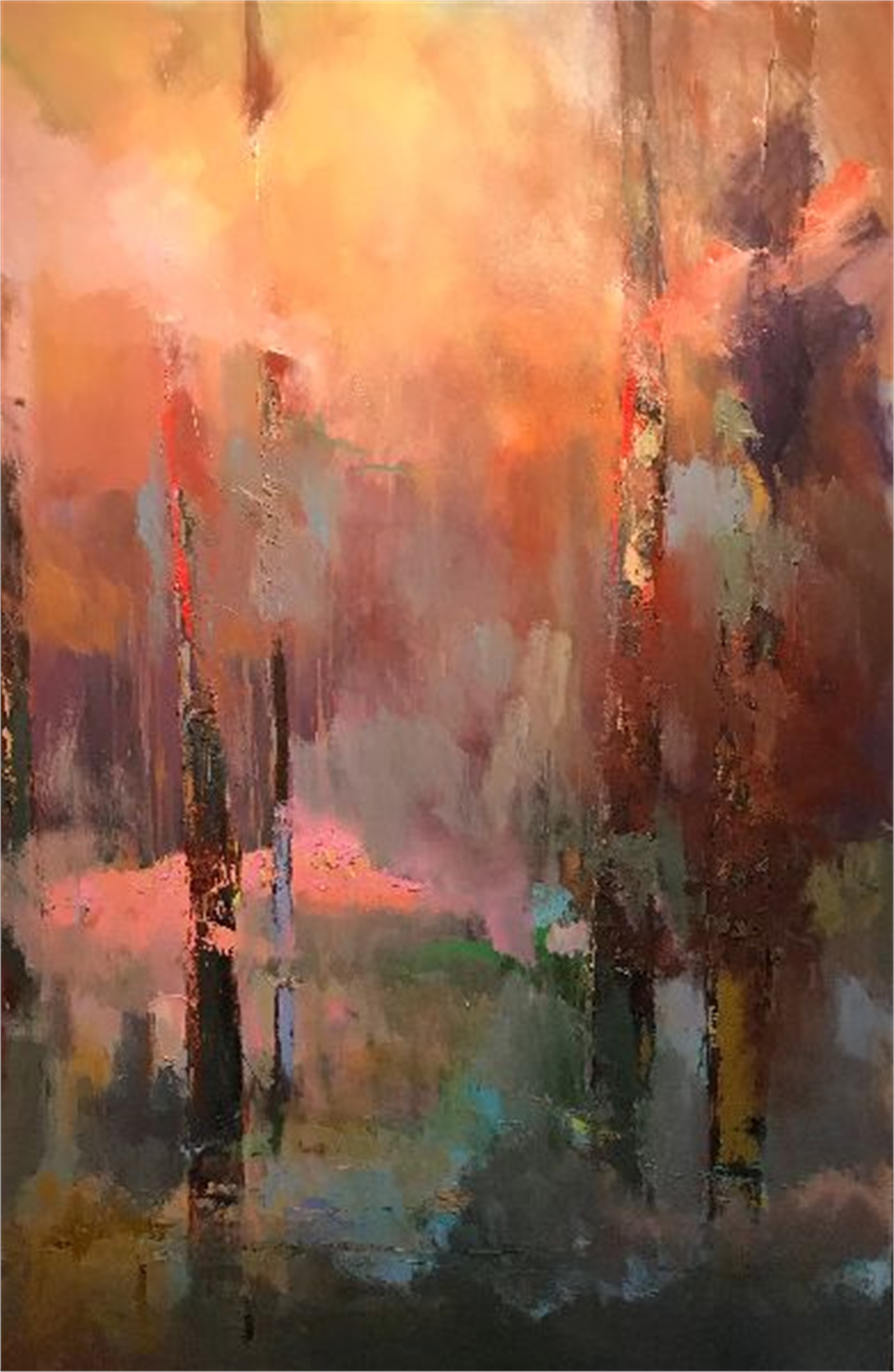 Wild Azaleas by James Calk