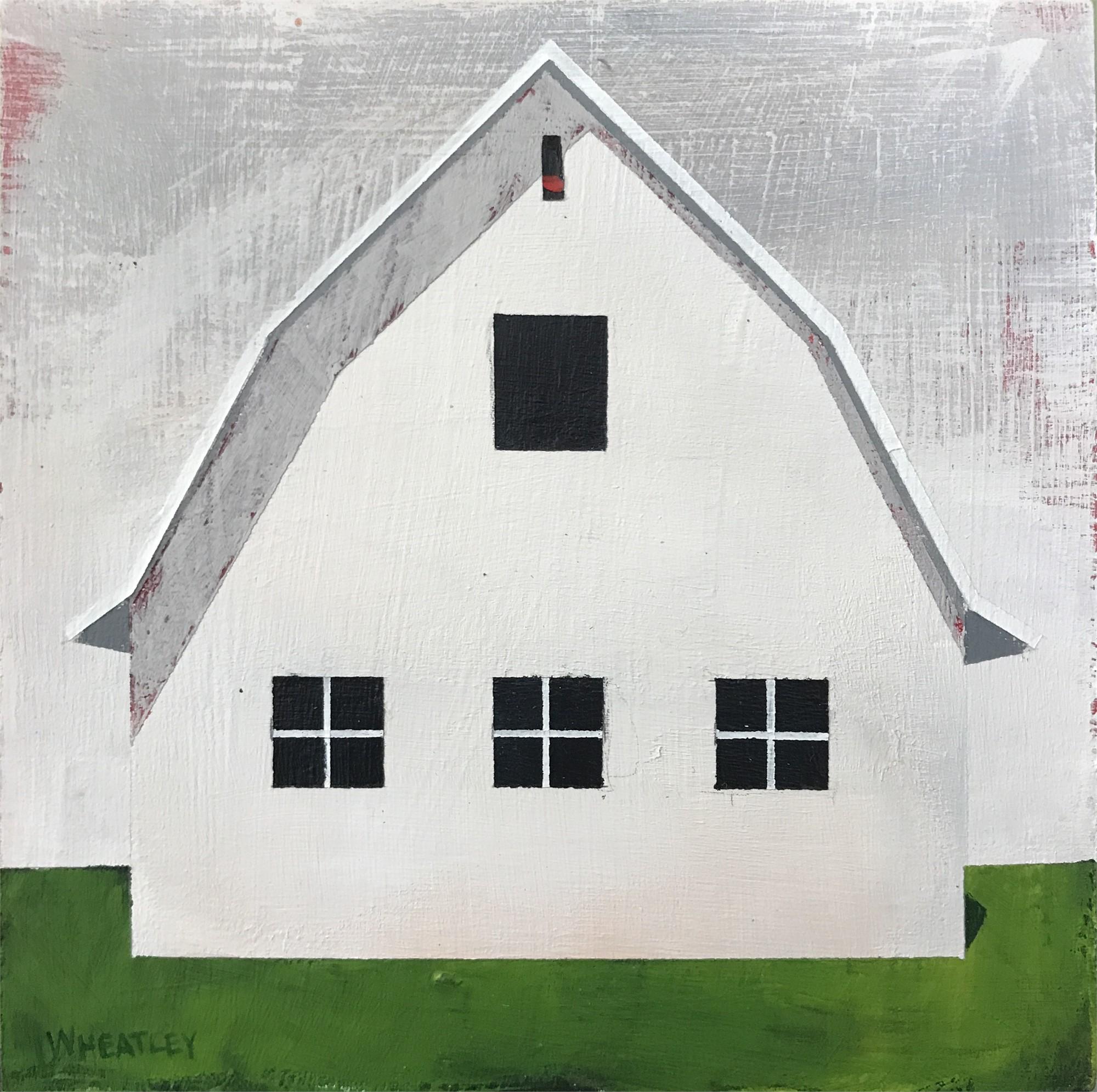 White Barn IV by Justin Wheatley
