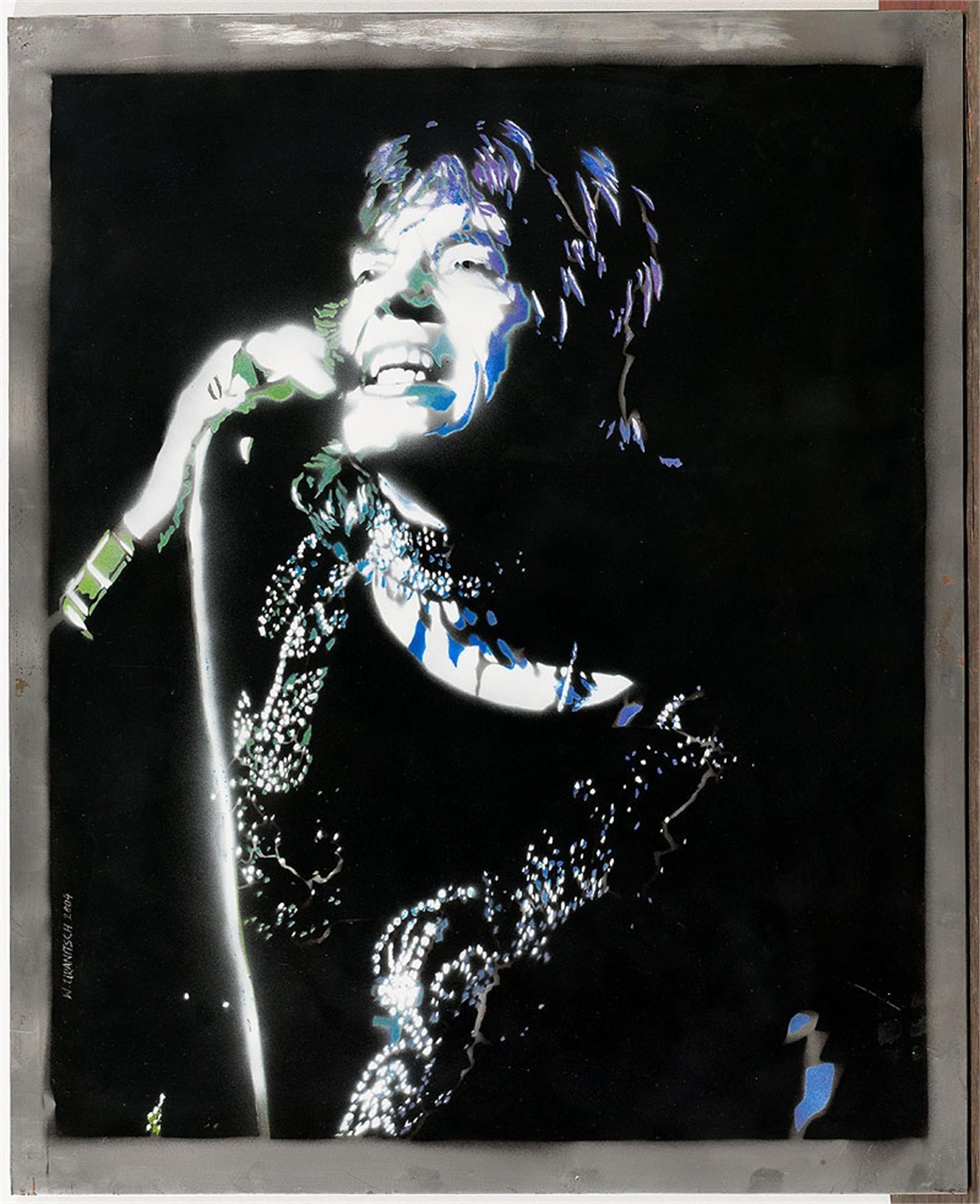 Mick Jagger by Wolfgang Uranitsch