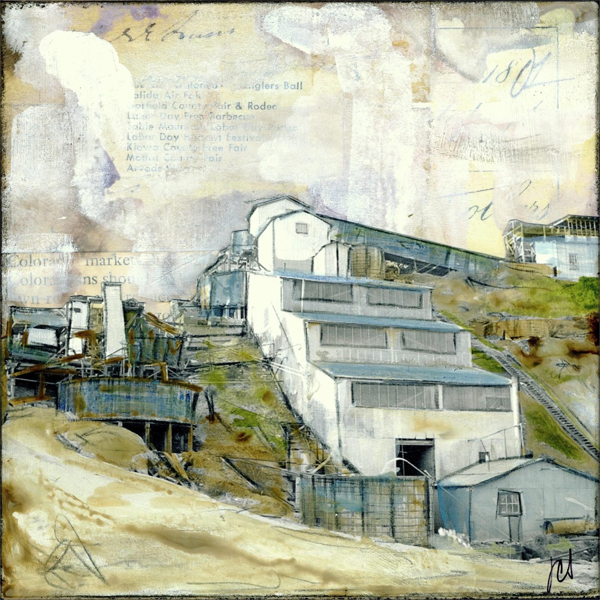 Mountain Mine II by JC Spock
