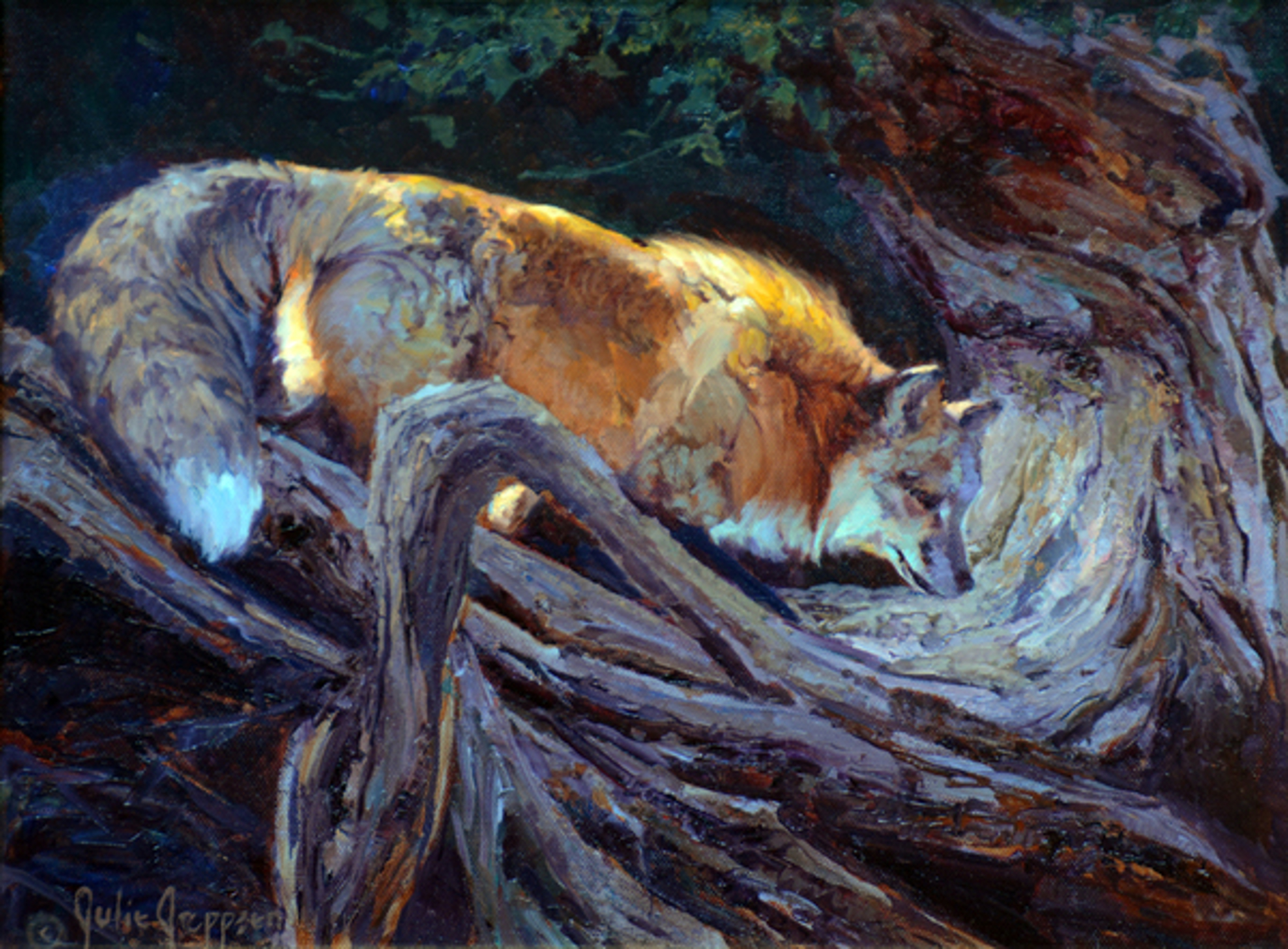Fox Hollow (Red Fox) by Julie Jeppsen