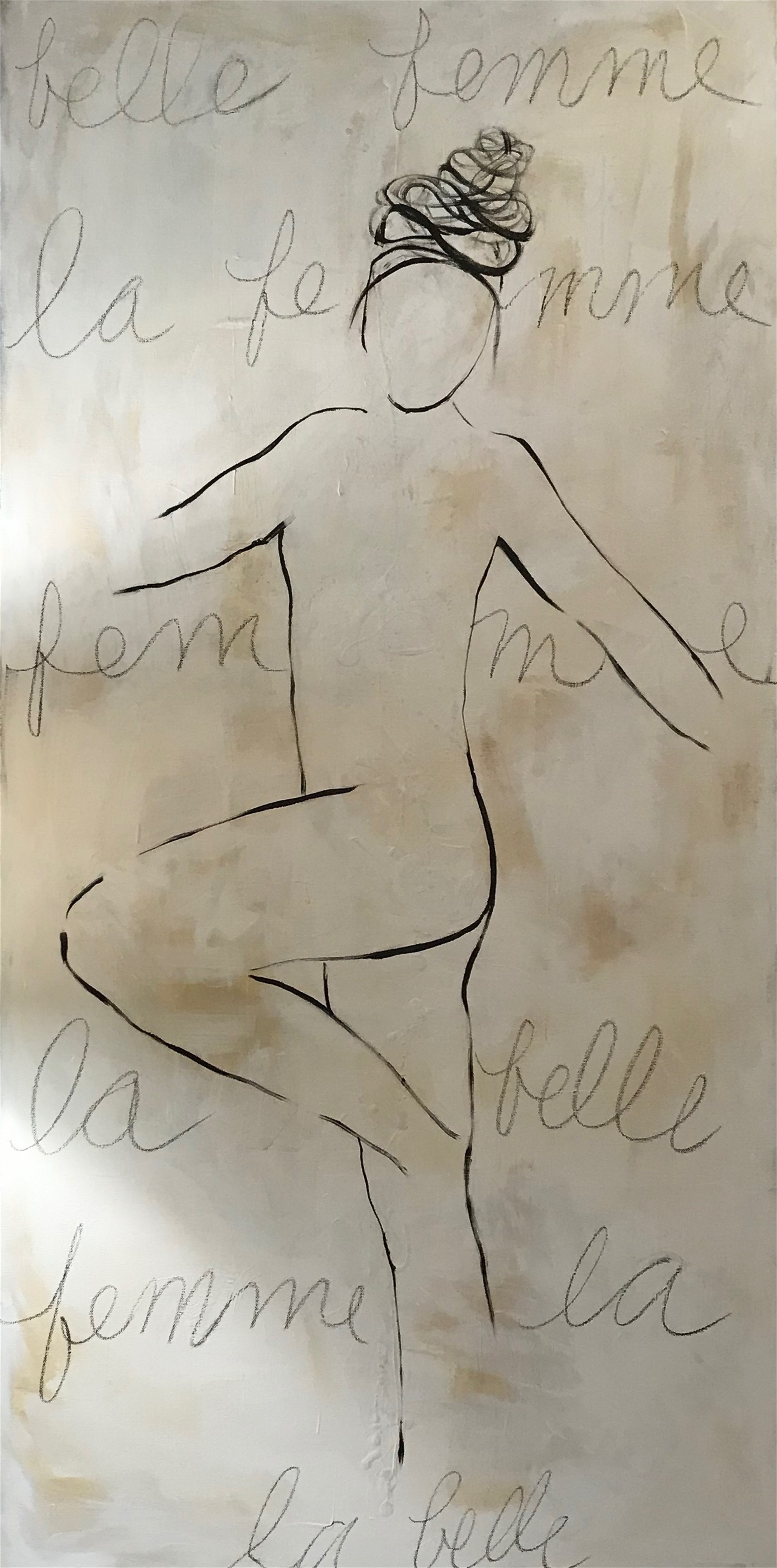 Figure No. 61 by Leslie Poteet Busker
