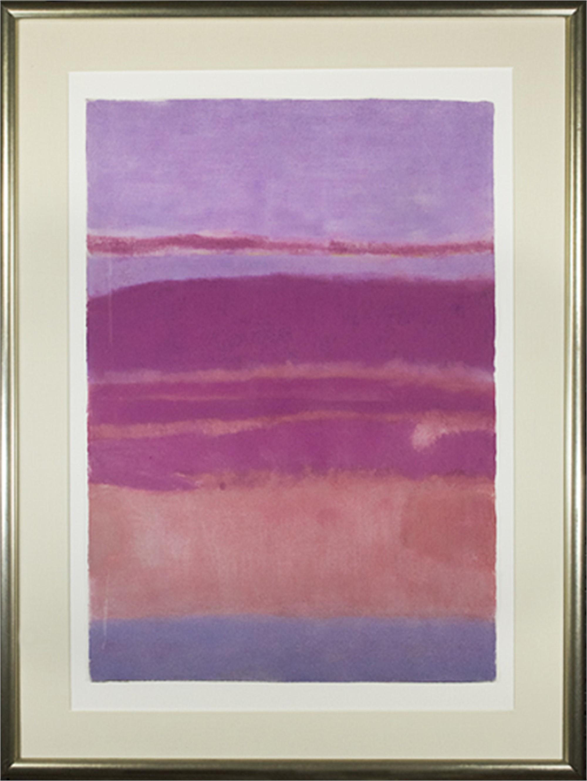 Landscape Pink & Red by Sue Bartfield
