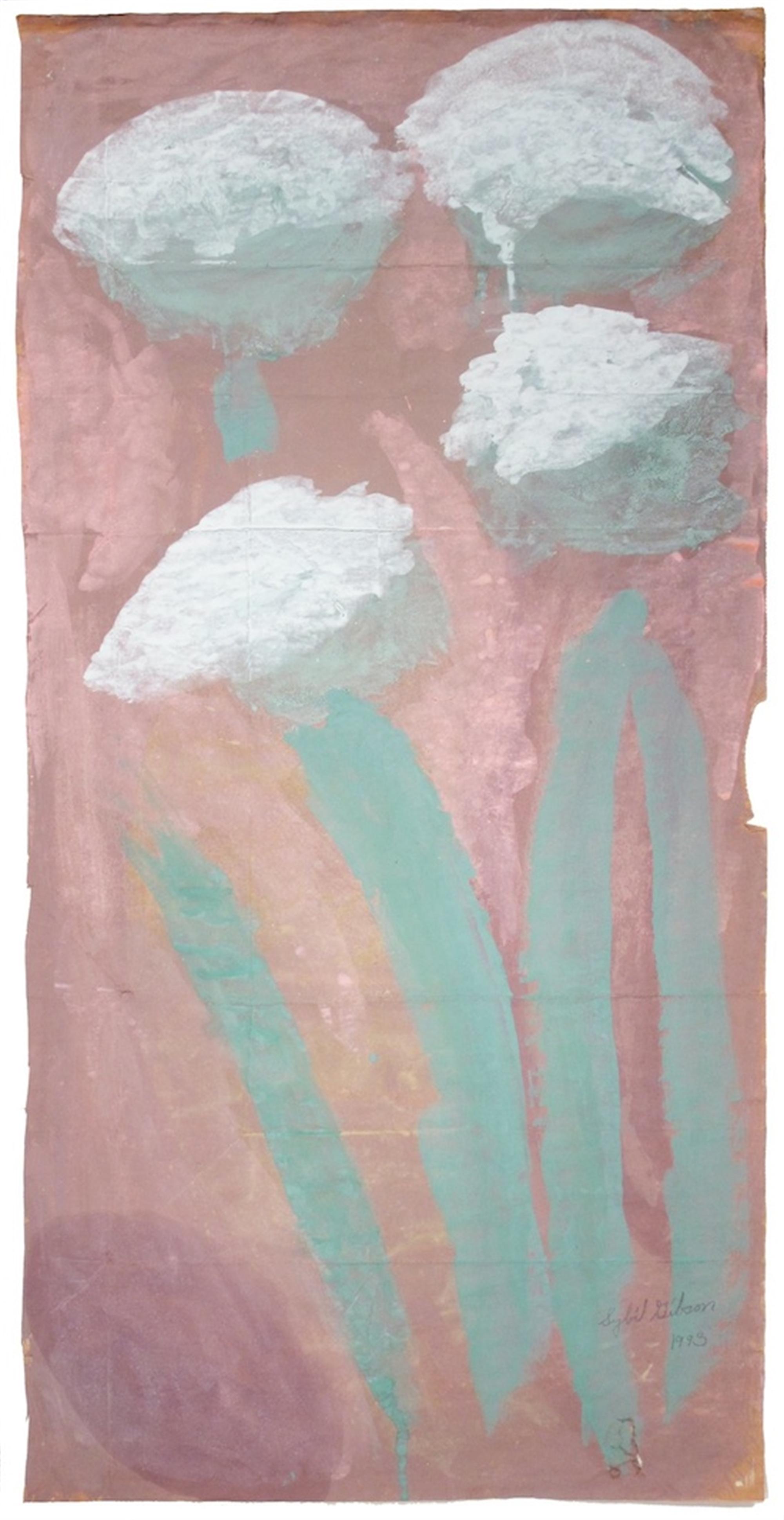 Four White Bulbs by Sybil Gibson