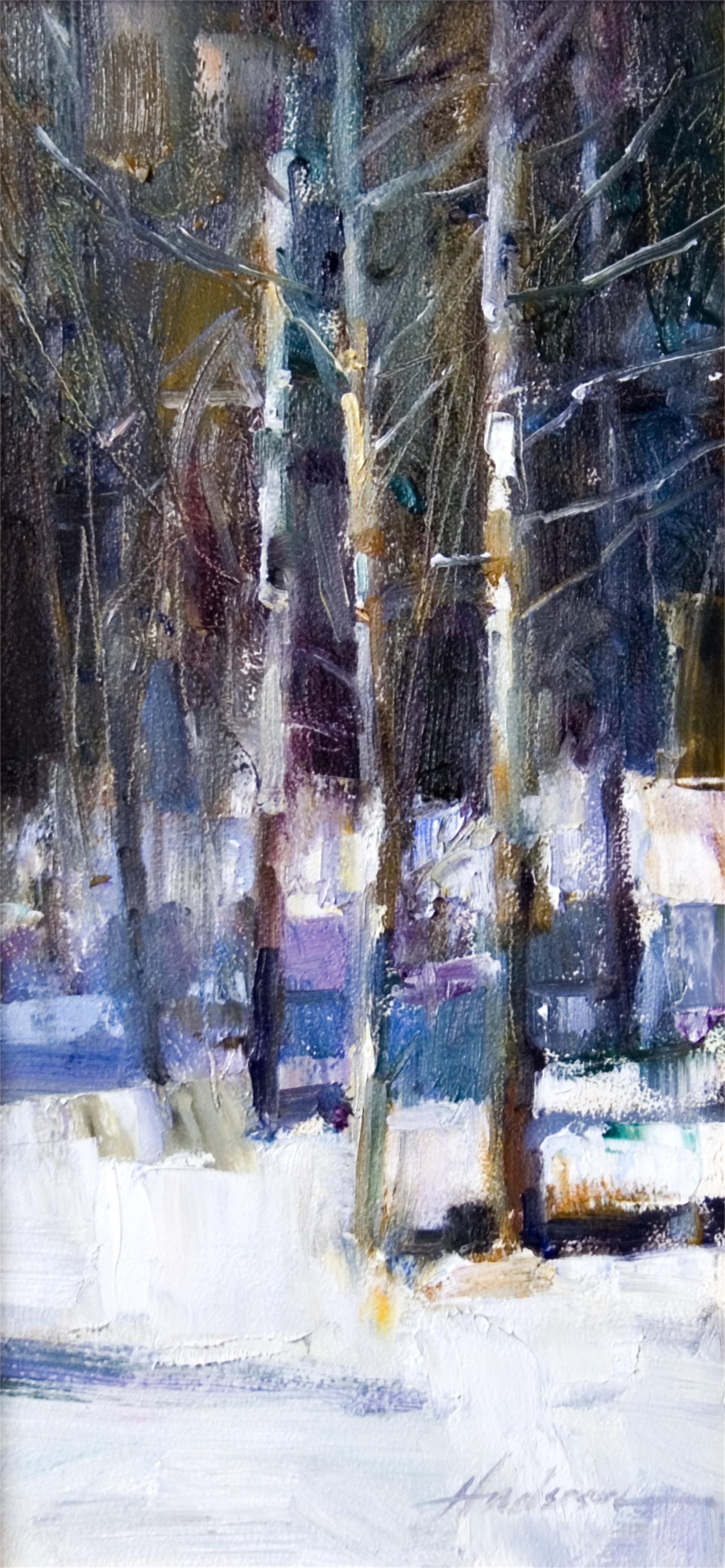 Fractal Trees II by Carolyn Anderson
