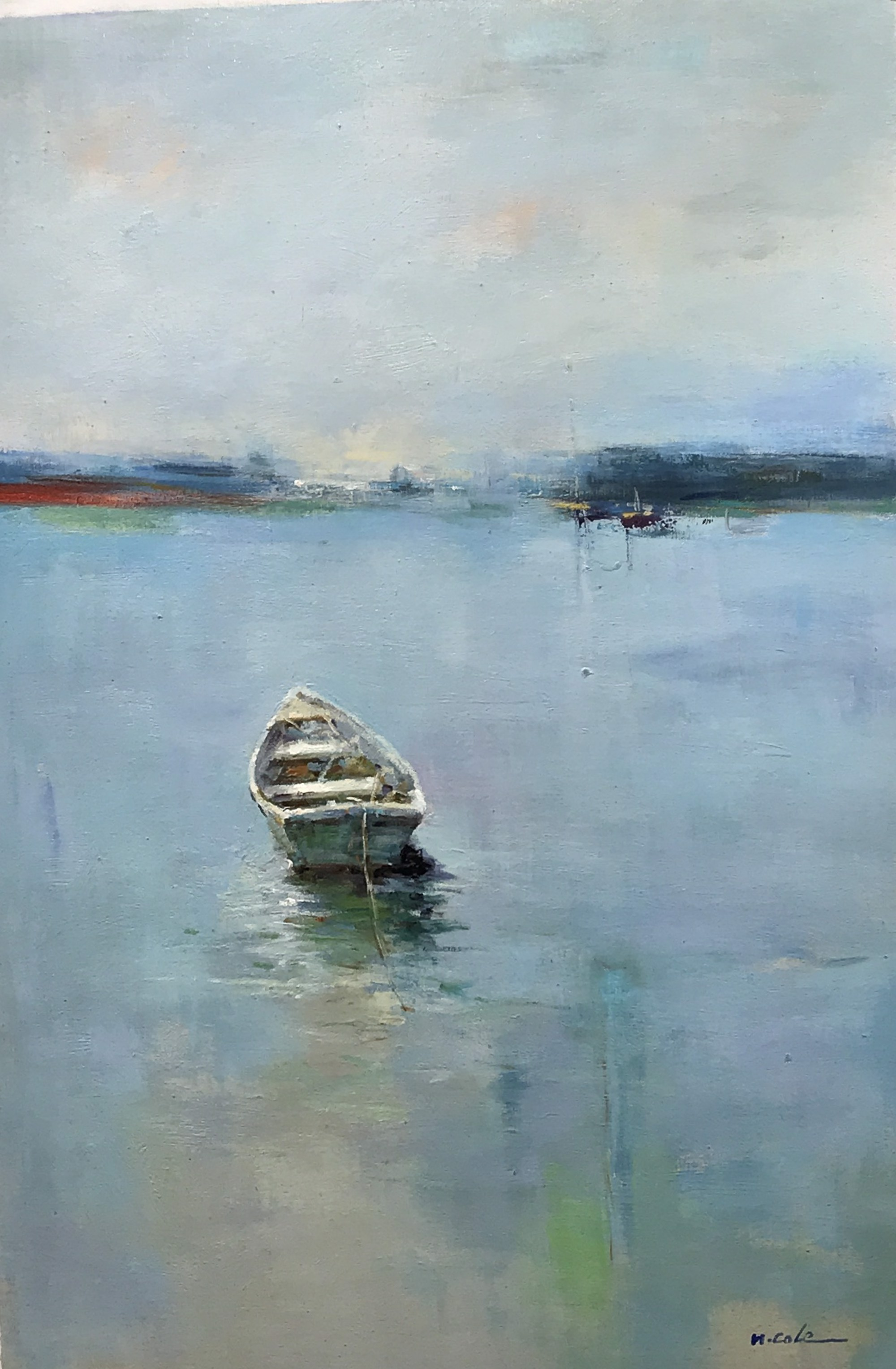 ANCHORED BY THE STERN by H COLE