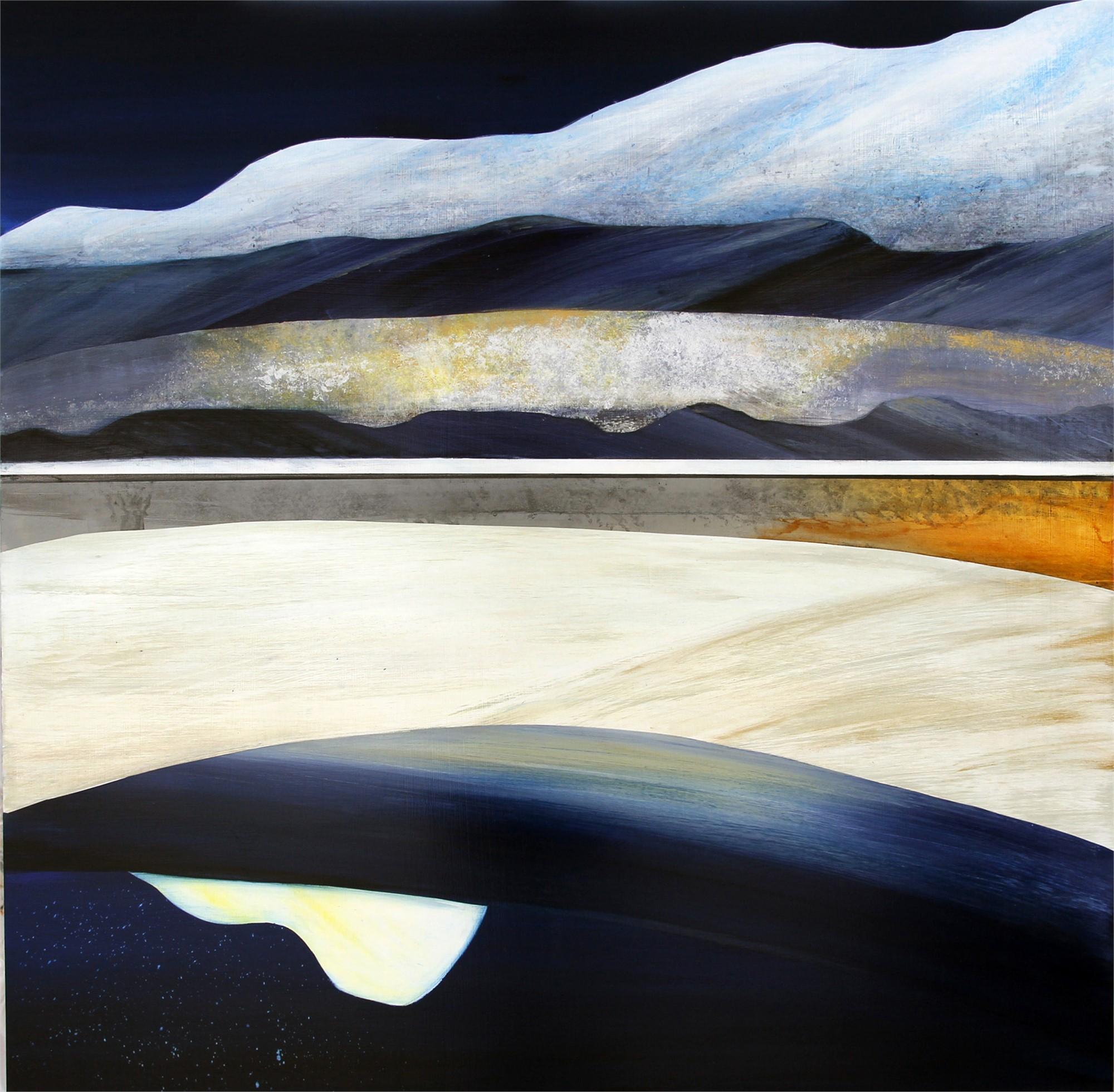 Supermoon Over Kenosha Pass by Sarah Winkler