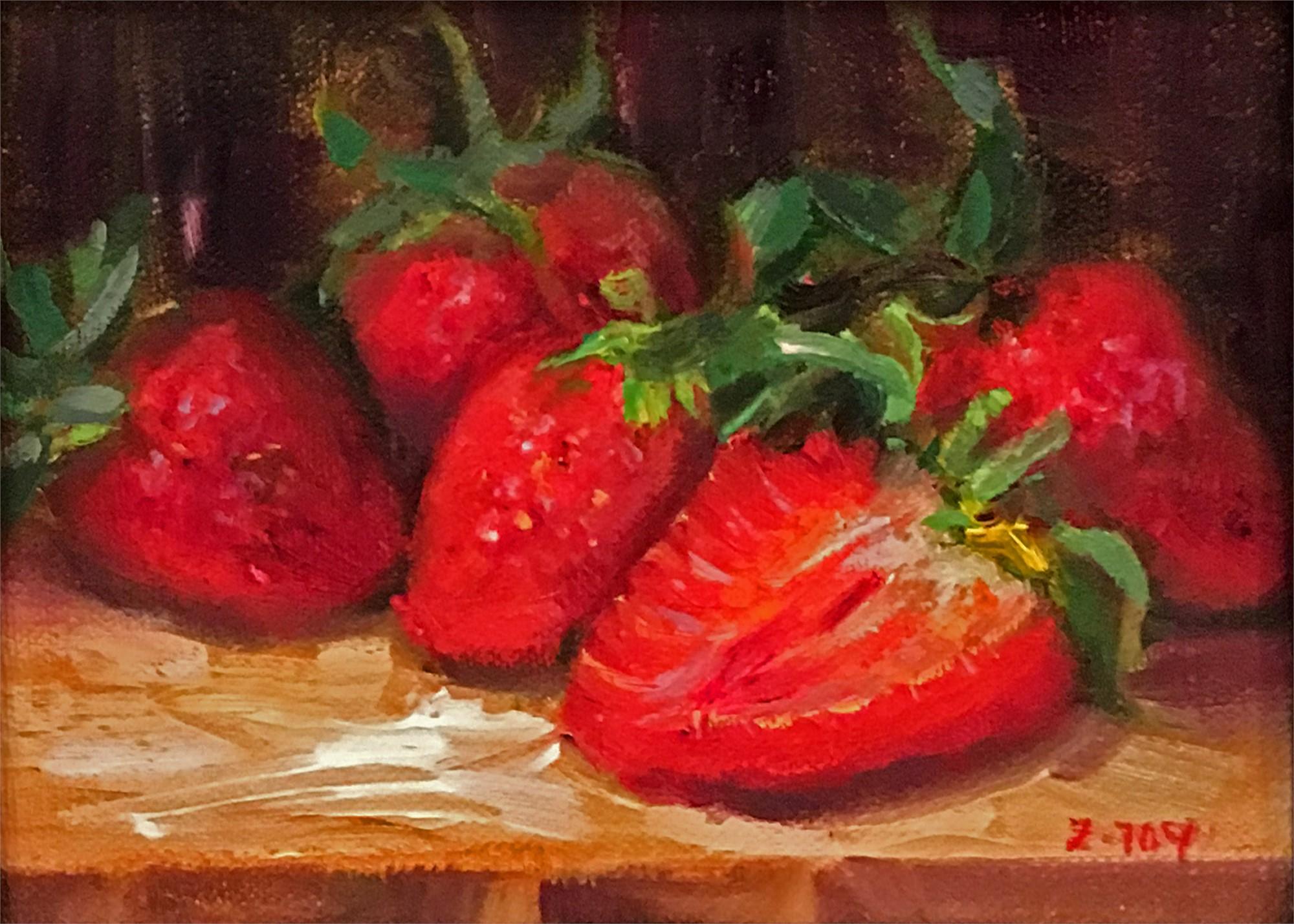 Strawberries by JOY