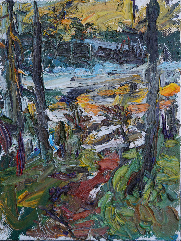 Finland in Spring Melting Lake by Ulrich Gleiter