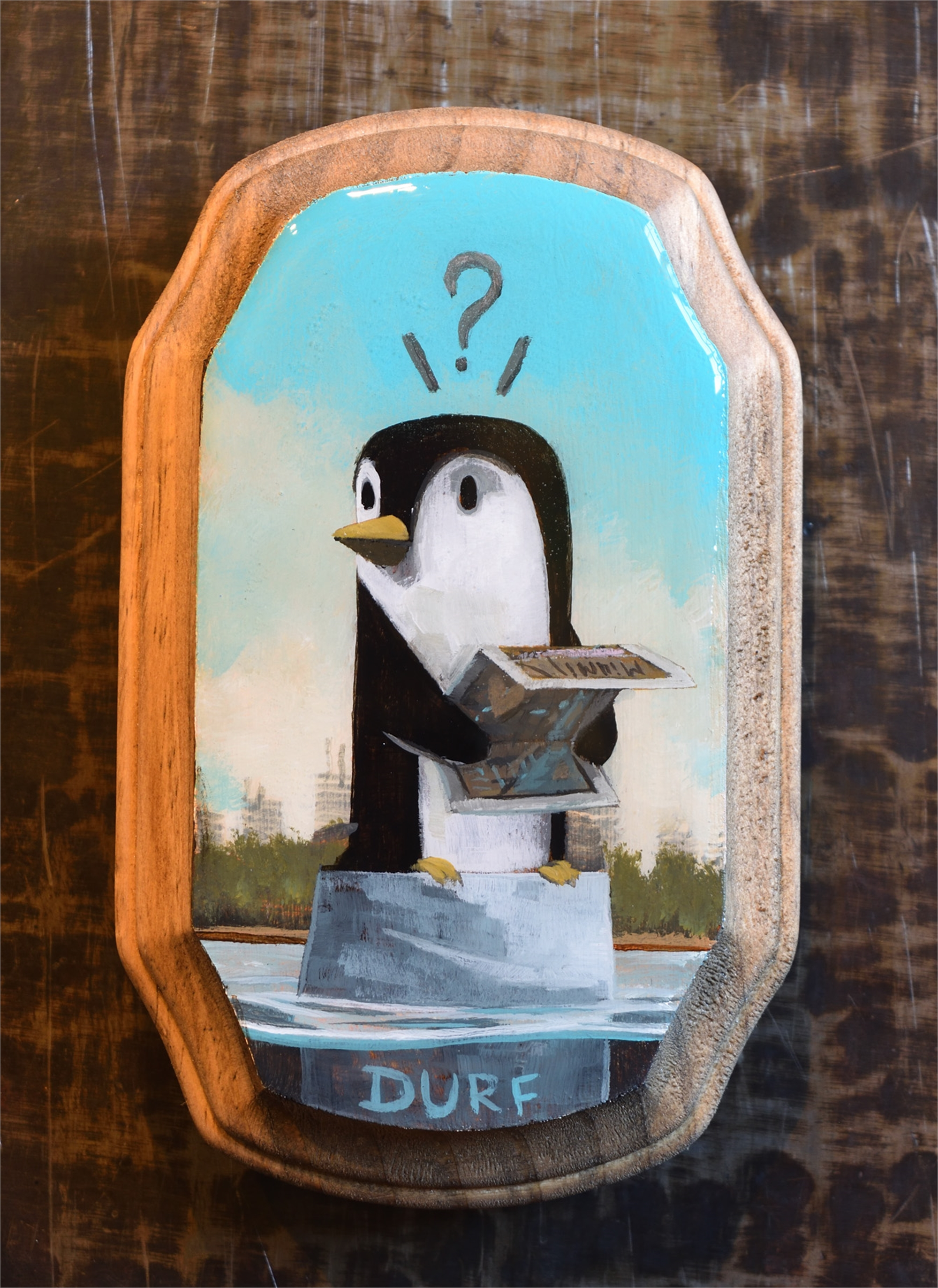 Penguin Lost by Nathan Durfee