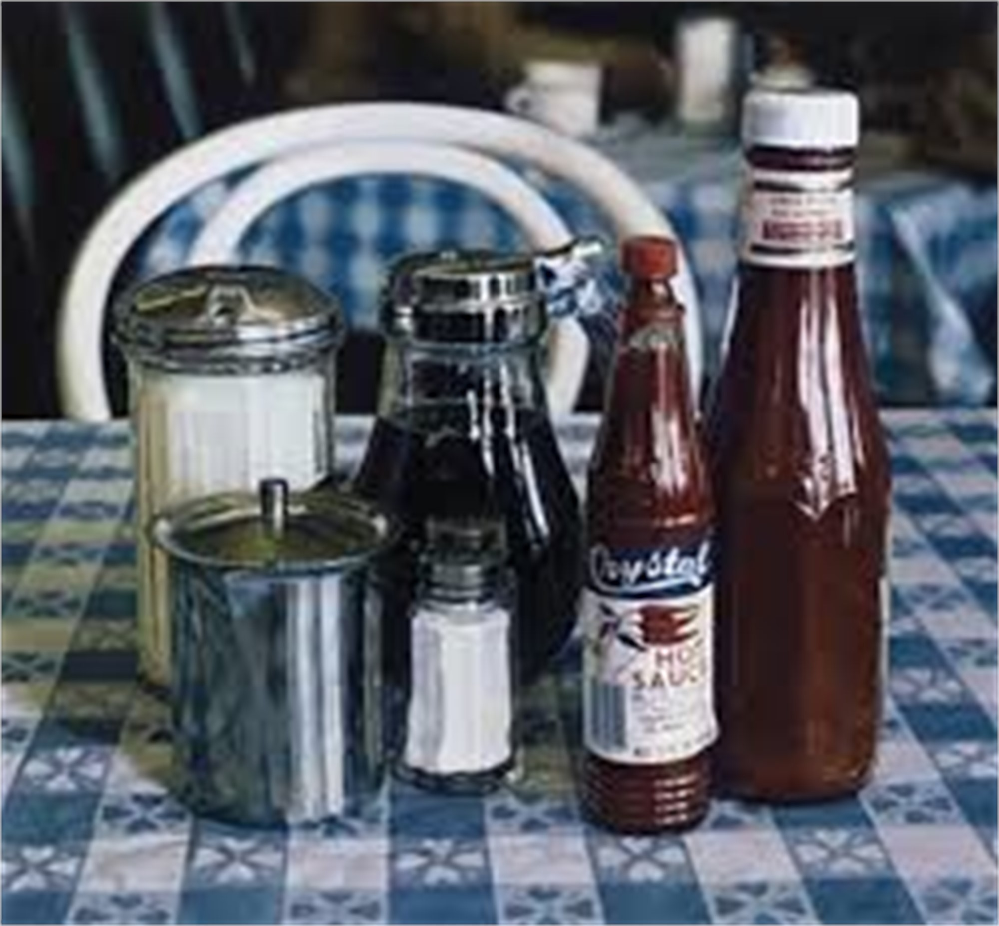 Still Life with Hot Sauce by Ralph Goings