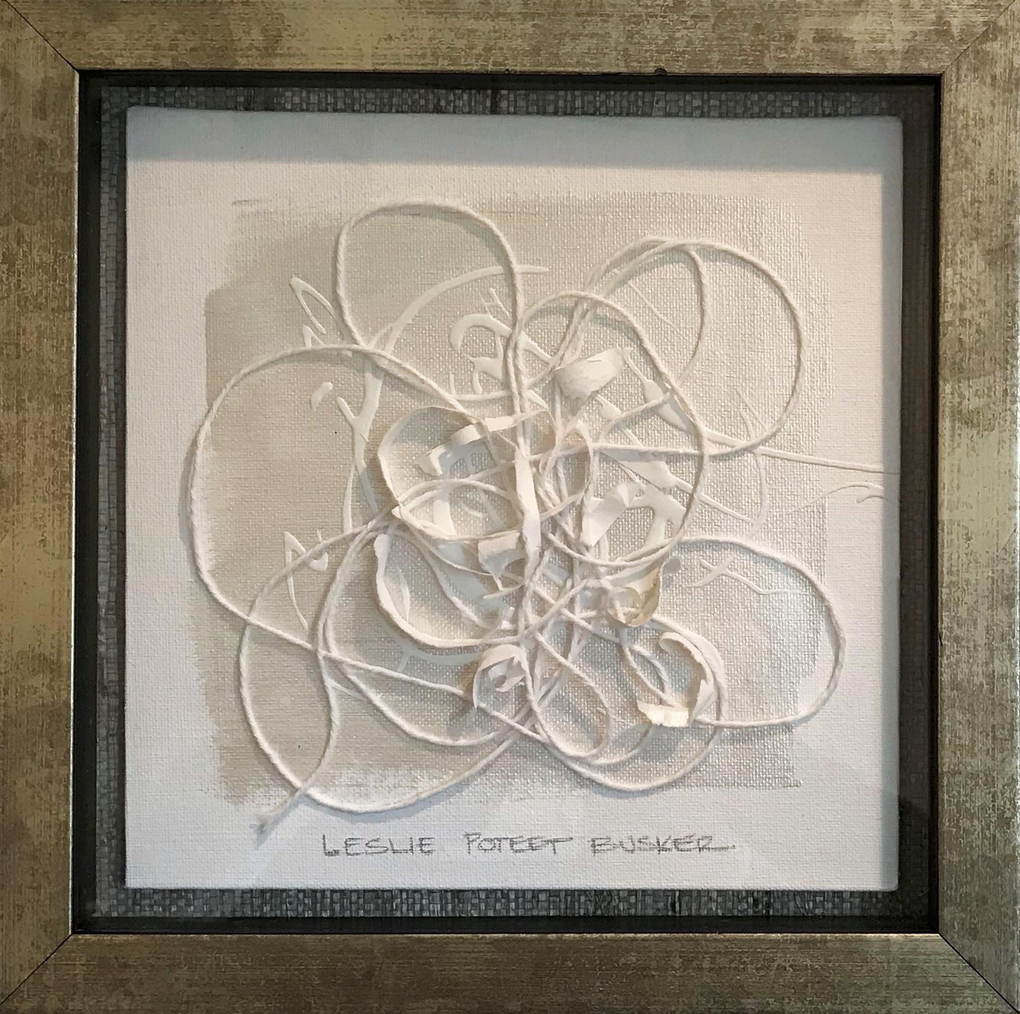 Fleur VI by Leslie Poteet Busker