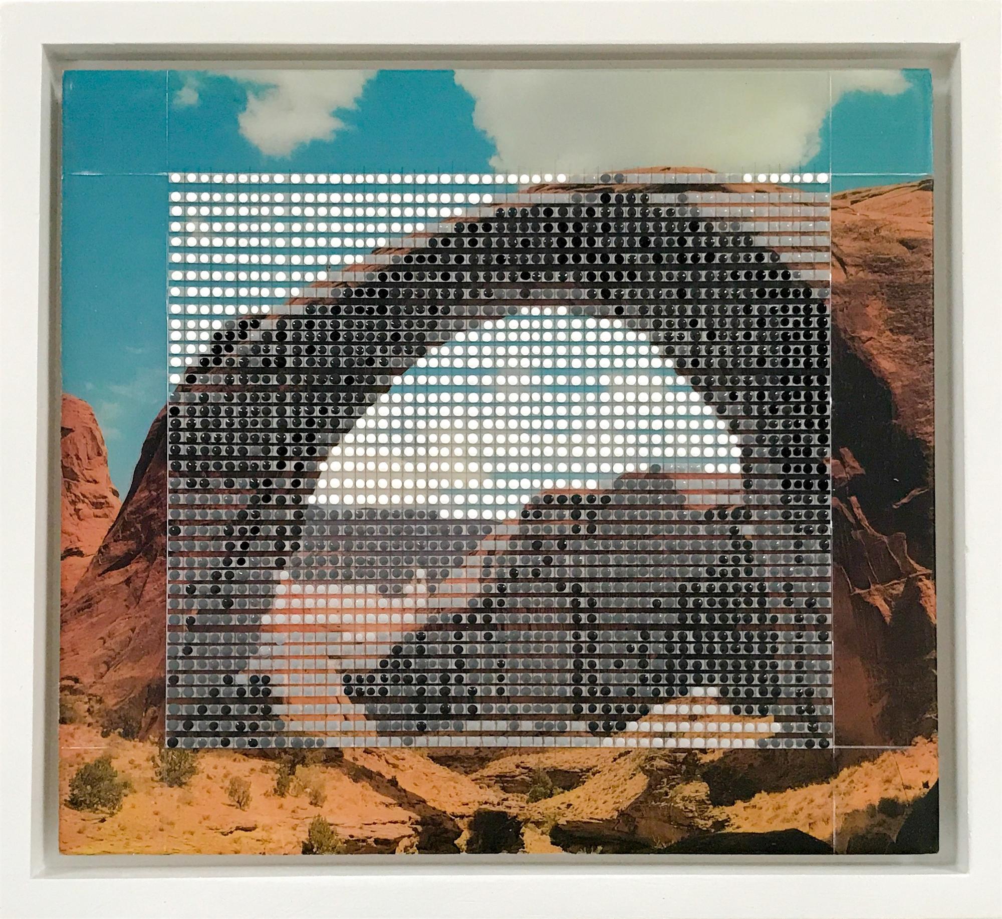 Rainbow Bridge, Monument Valley, AZ / Borrowed Landscape No.6 by Nina Tichava