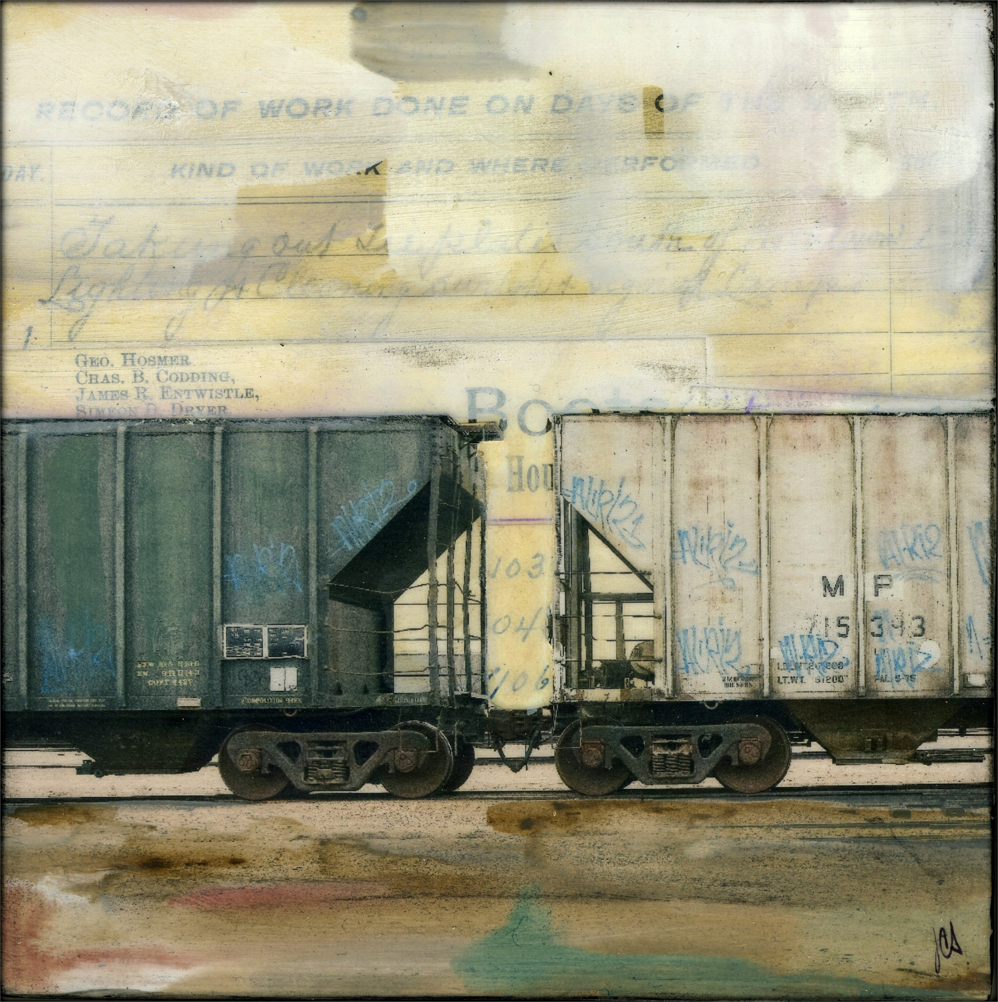 Hopper Cars III by JC Spock