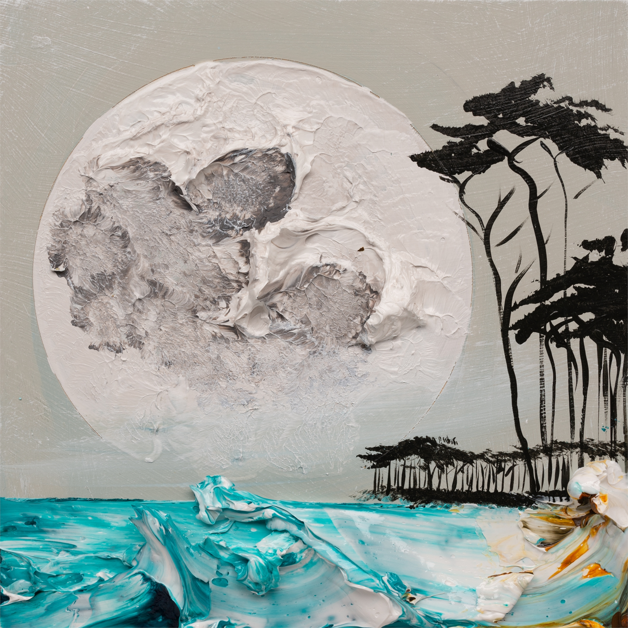MOONSCAPE MS-12X12-2019-326 by JUSTIN GAFFREY