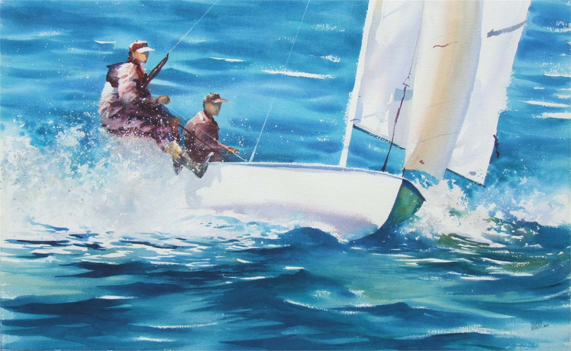Sailing on the Wire by Charles Sharpe