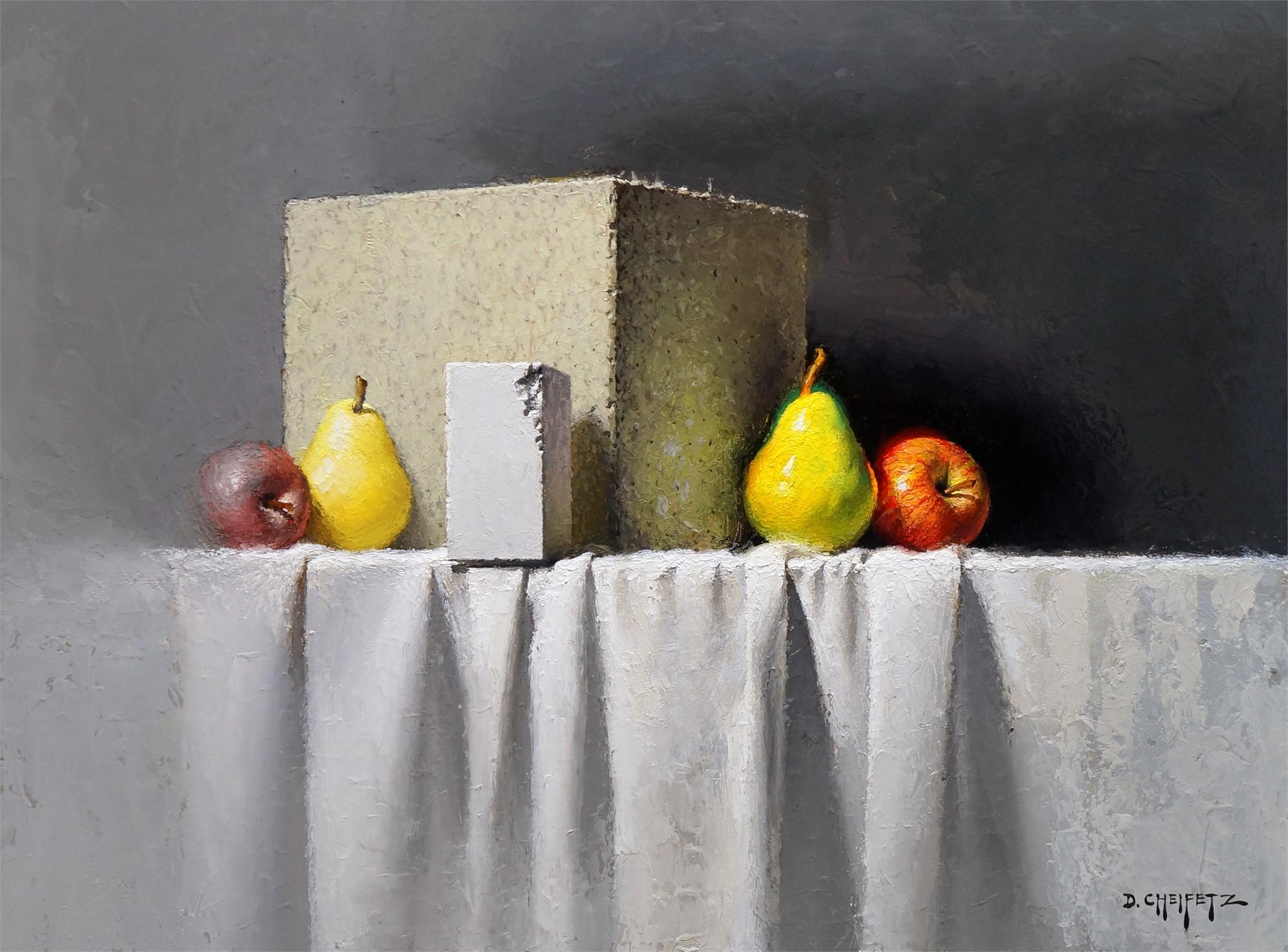 Chalk, Block, And Mirror by David Cheifetz