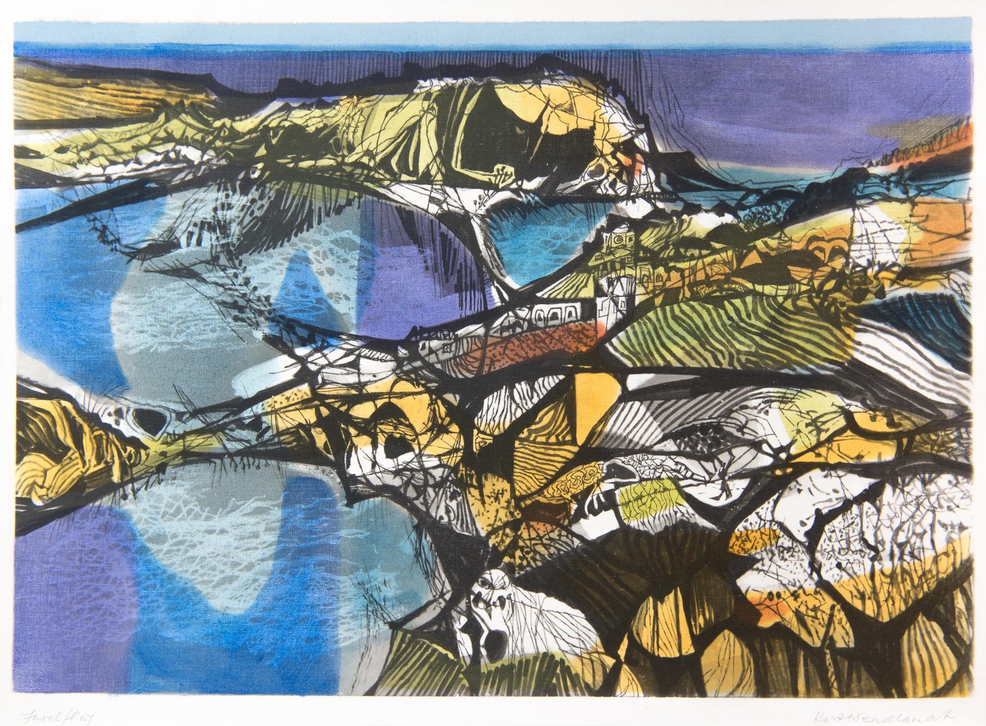 Inselflug by Kurt Wendlandt