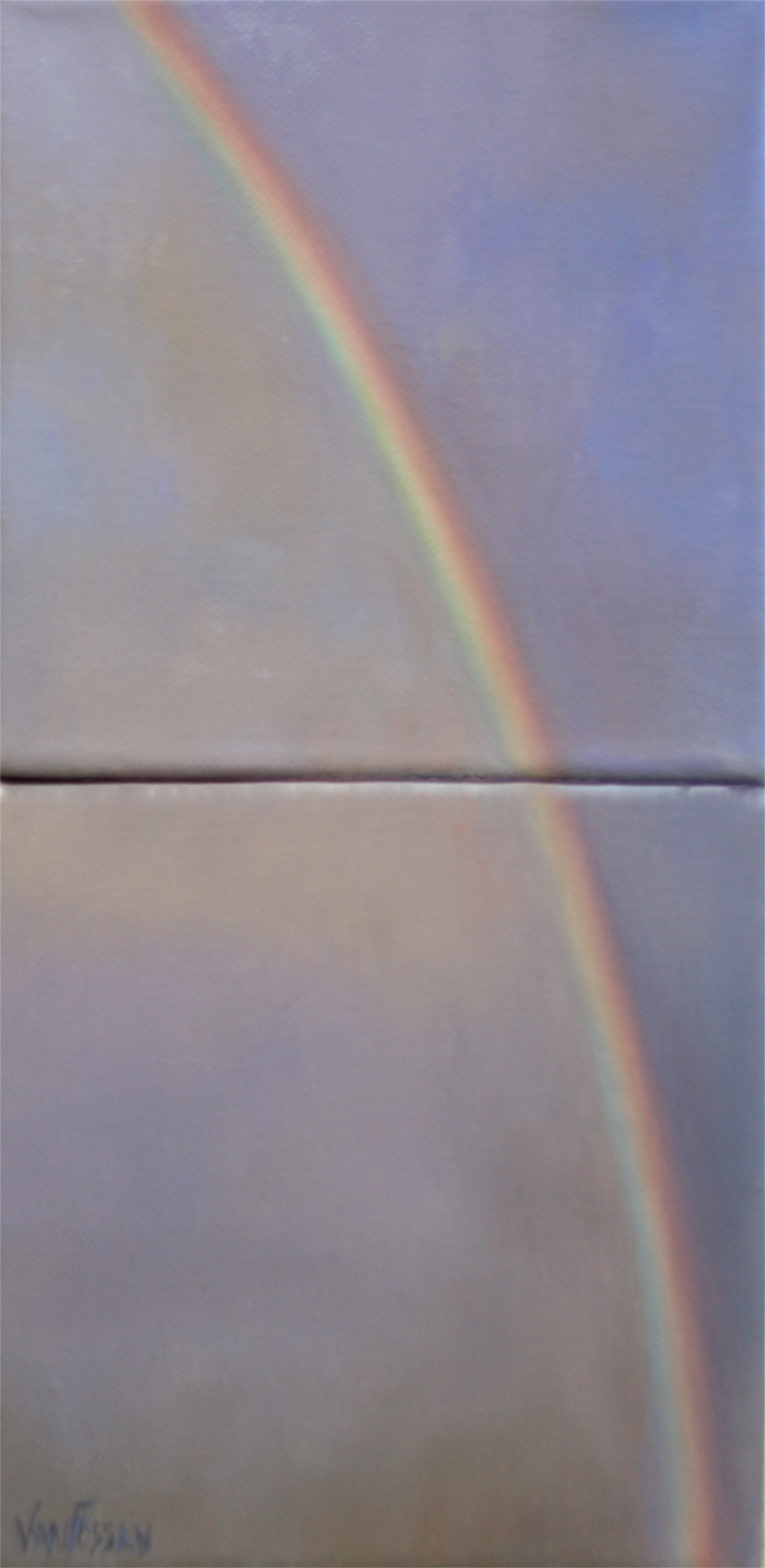 Sky 14 (diptych) by James Van Fossan