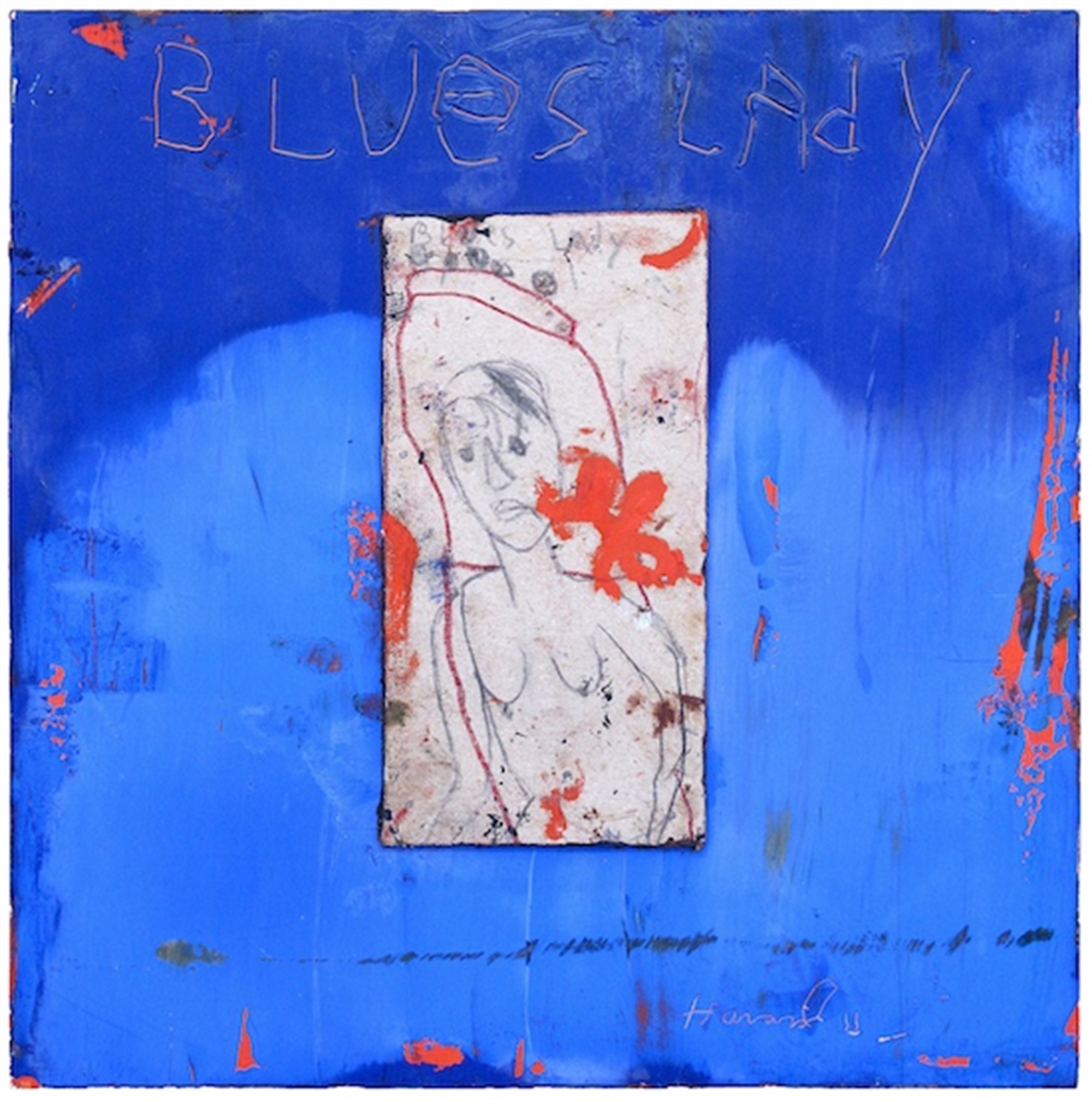 Blues Lady by James Havard