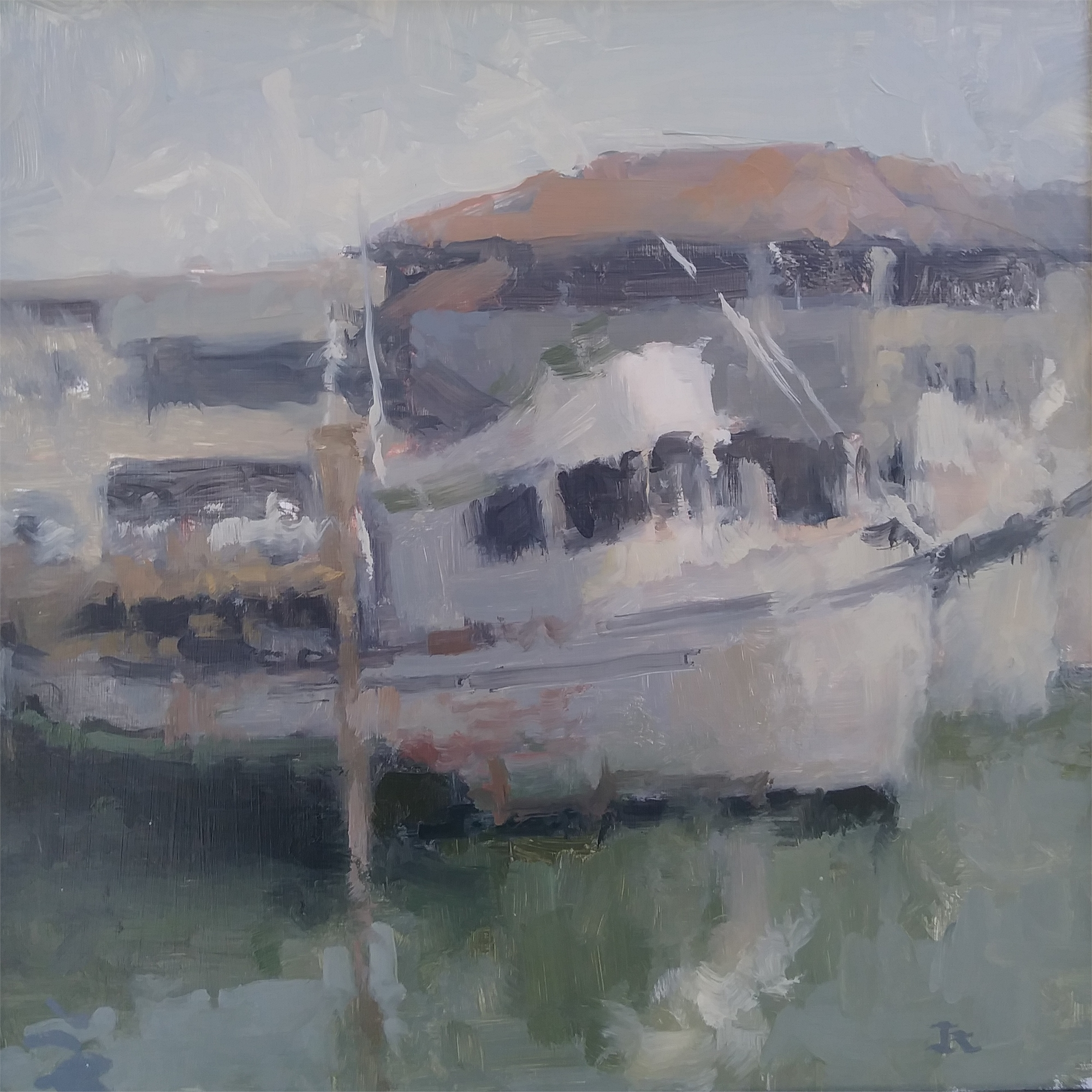 SF Boat Harbor by James Kroner