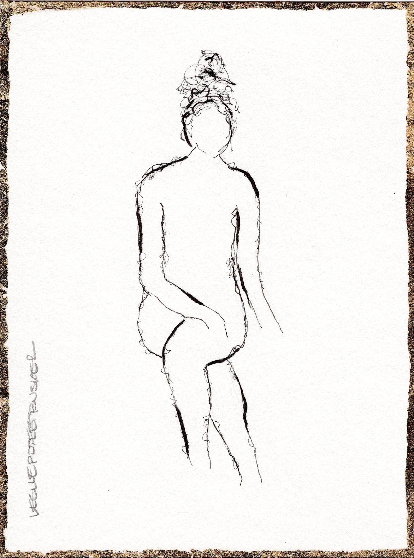 Figure No. 133 by Leslie Poteet Busker