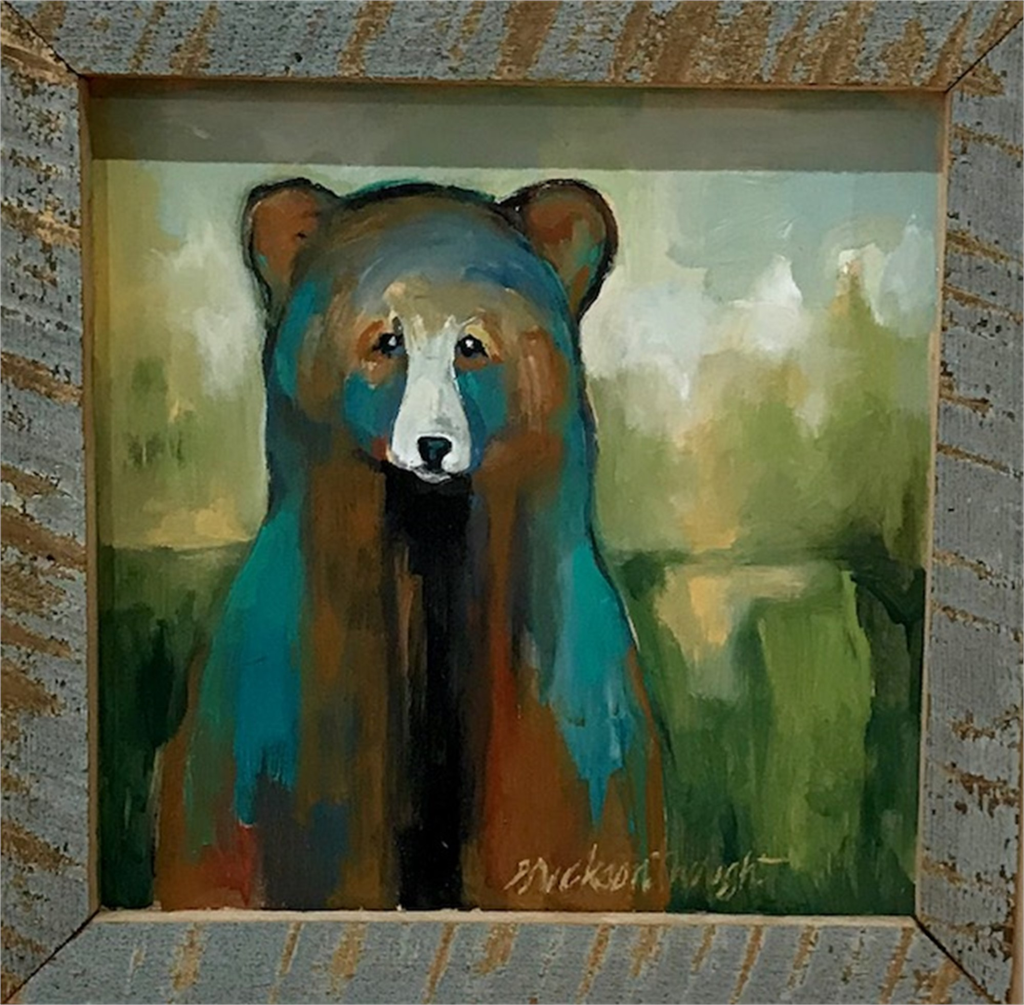 Look Who Got Into My Paints by Sandra Erickson Wright