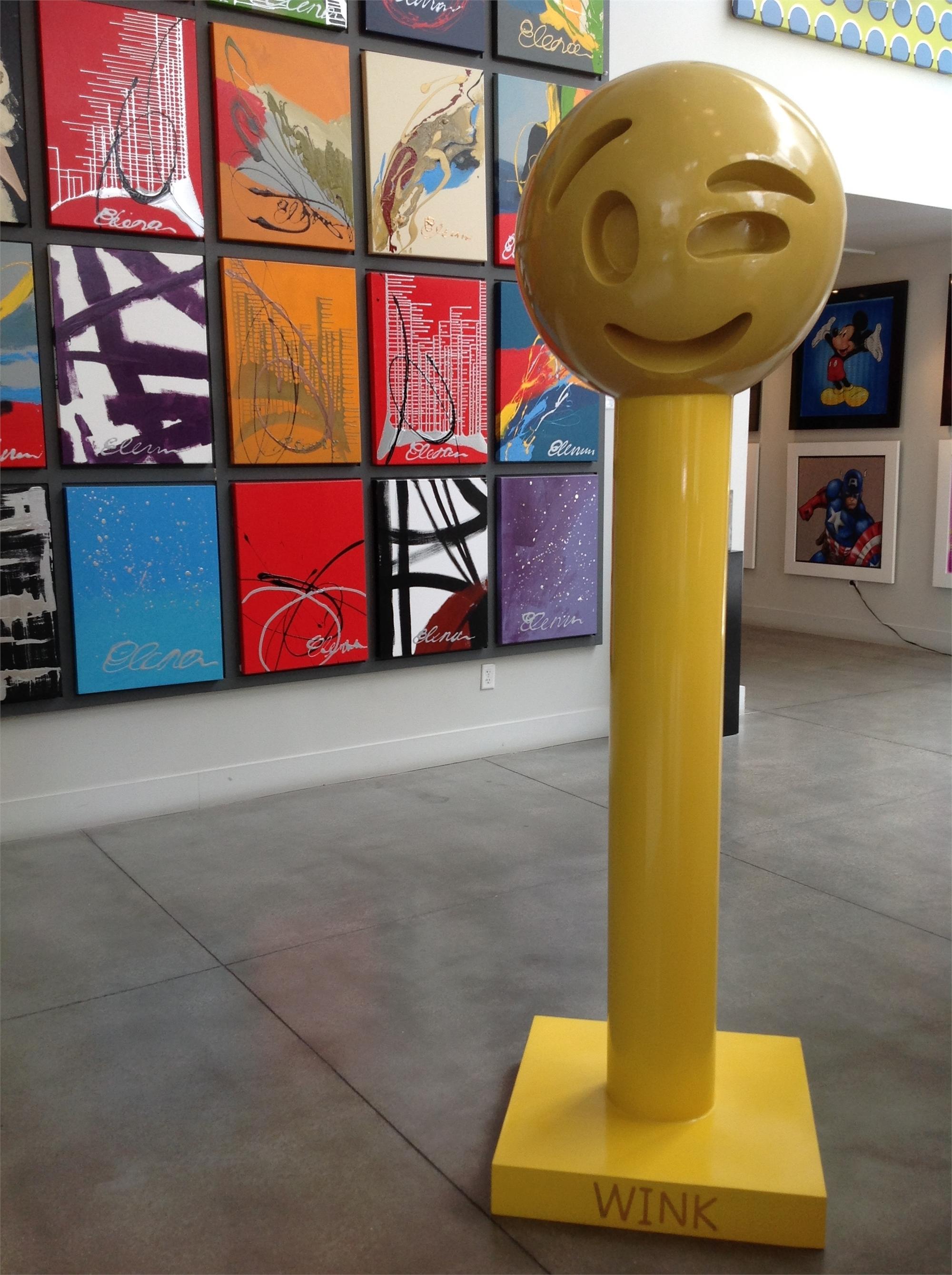 """Emoji Series """"Wink"""" by Elena Bulatova"""