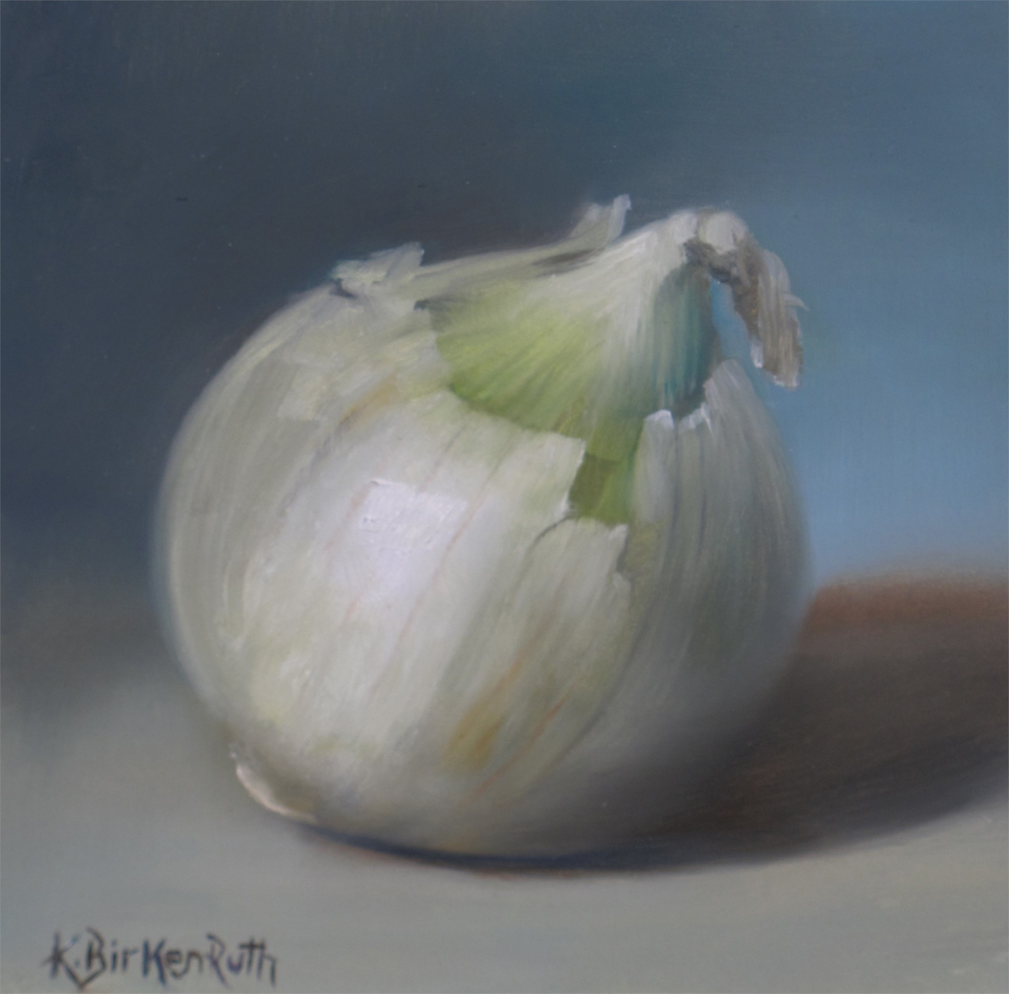 White Onion by Kelly Birkenruth