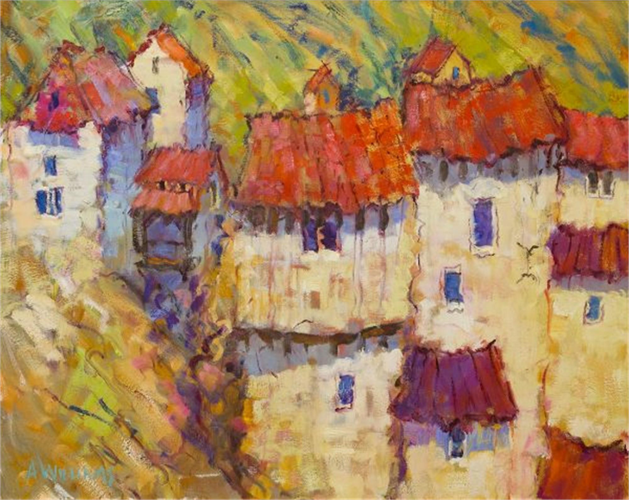 Village en Dorgogne by Alice Williams