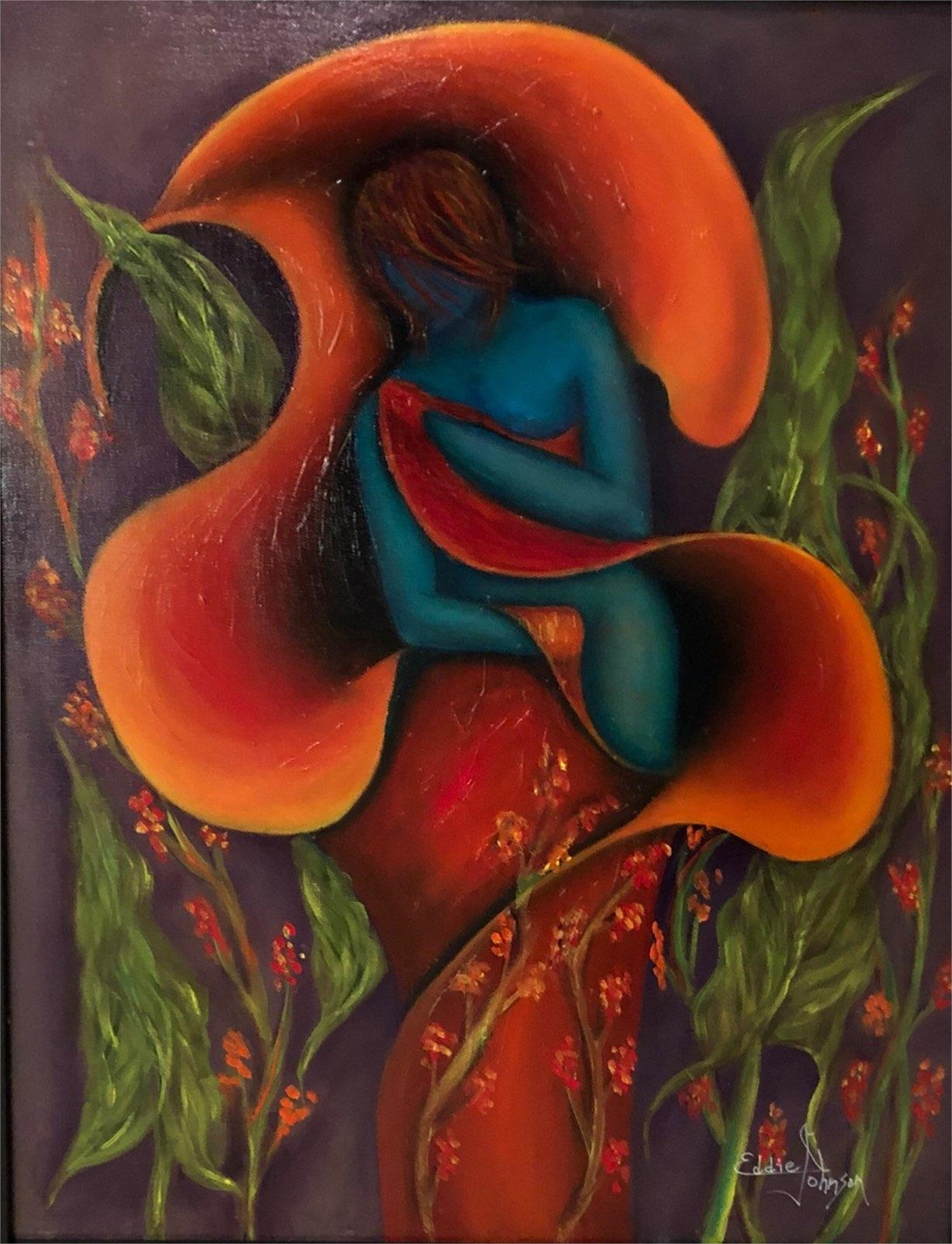 Comfort by Edwin Johnson (McMinnville, OR)